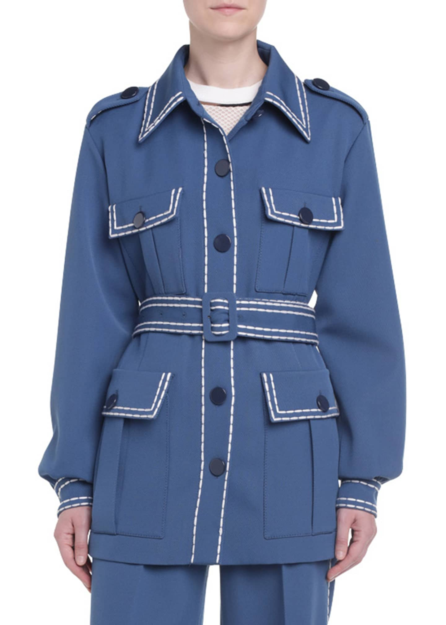 Fendi Safari Gabardine Jacket