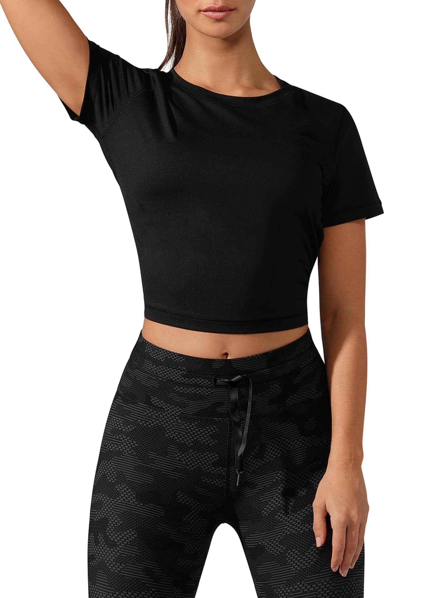 Lorna Jane Breeze Cropped Active Tee
