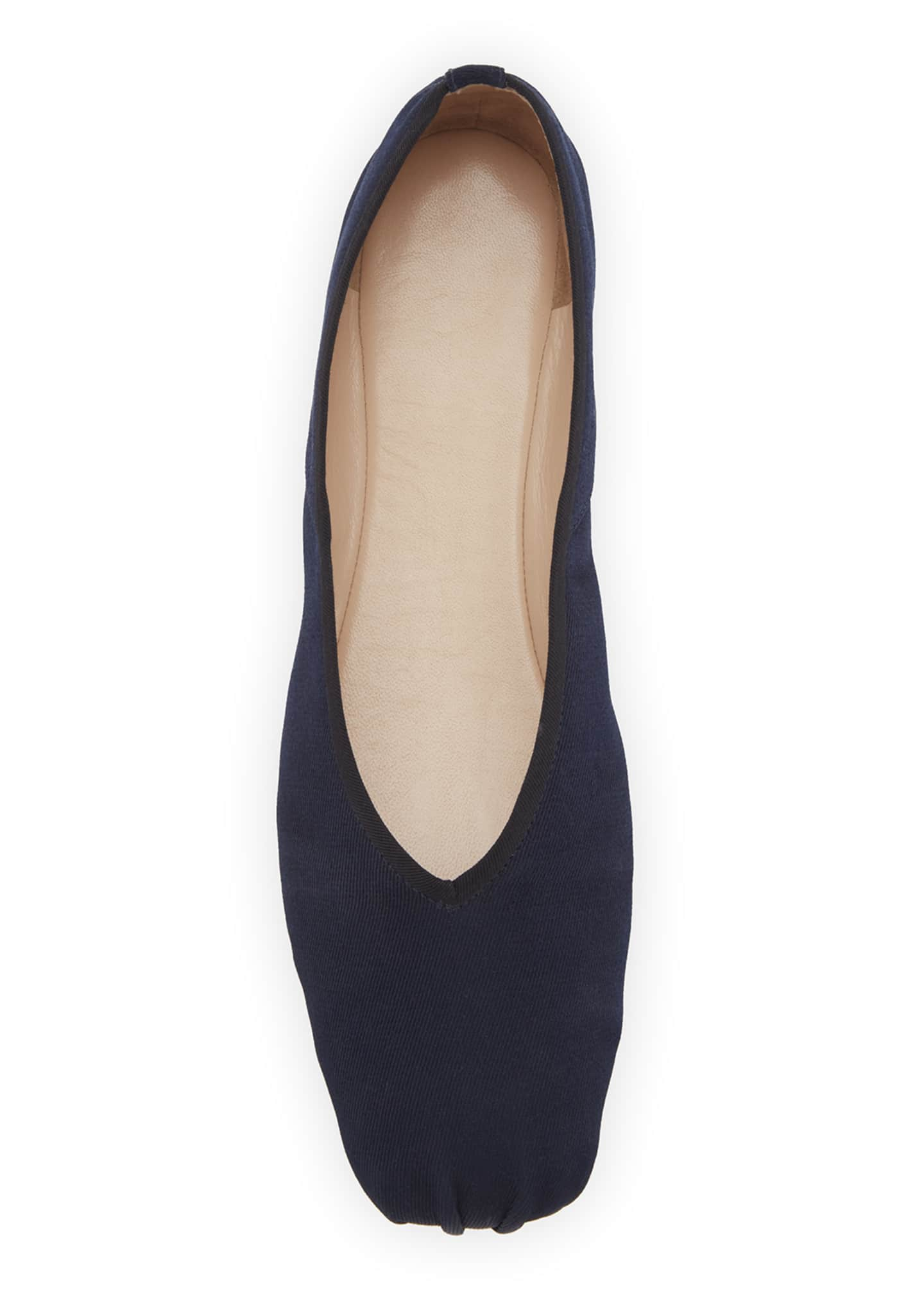 Image 3 of 3: Canvas Ballet Flats