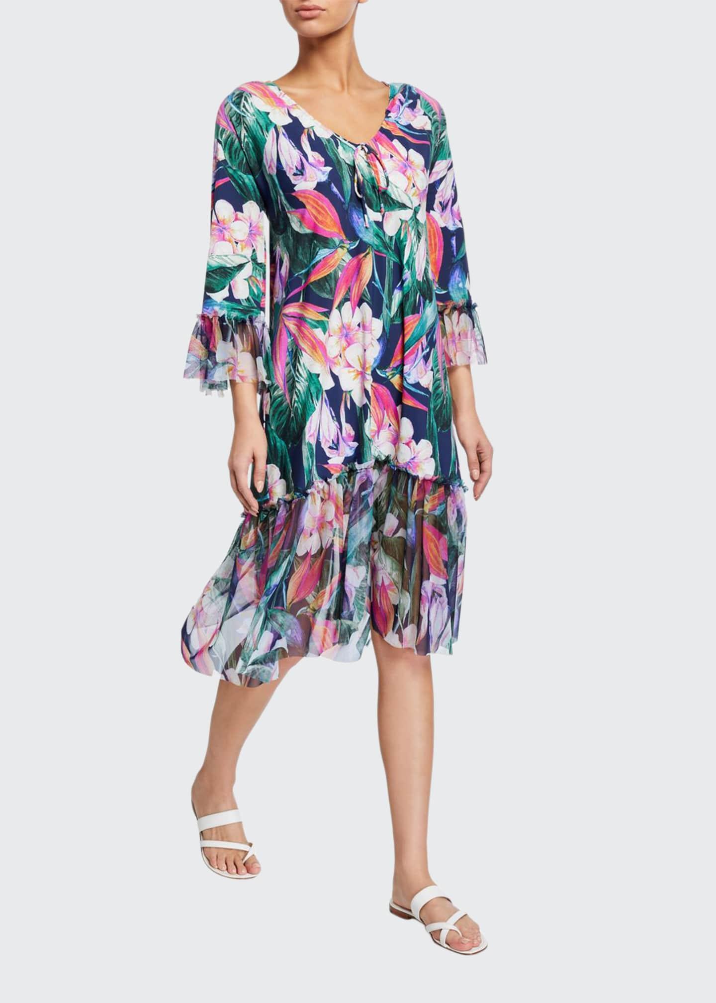 Chiara Boni La Petite Robe Zehra Floral Print