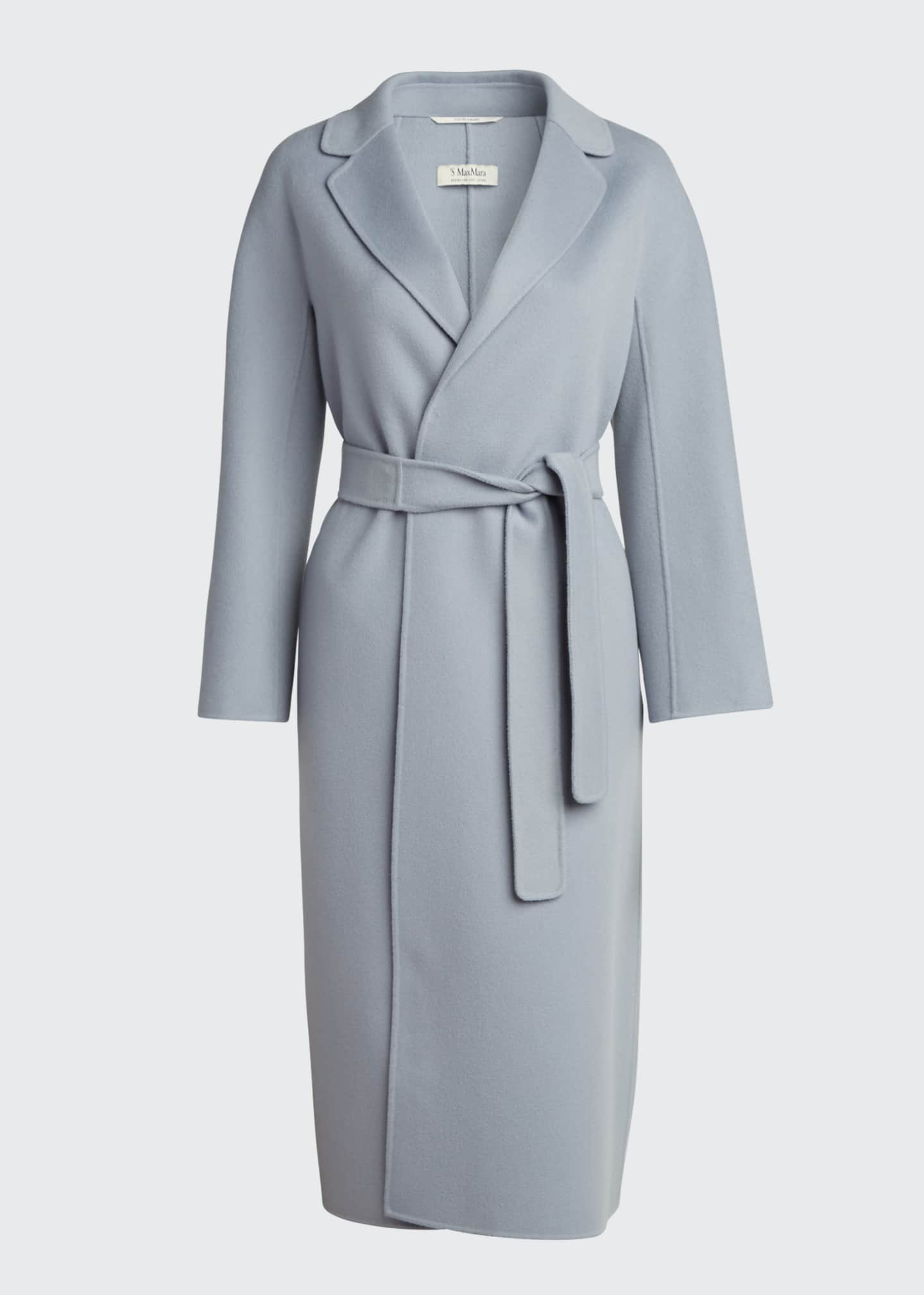 Image 5 of 5: Esturia Self-Tie Virgin Wool Coat