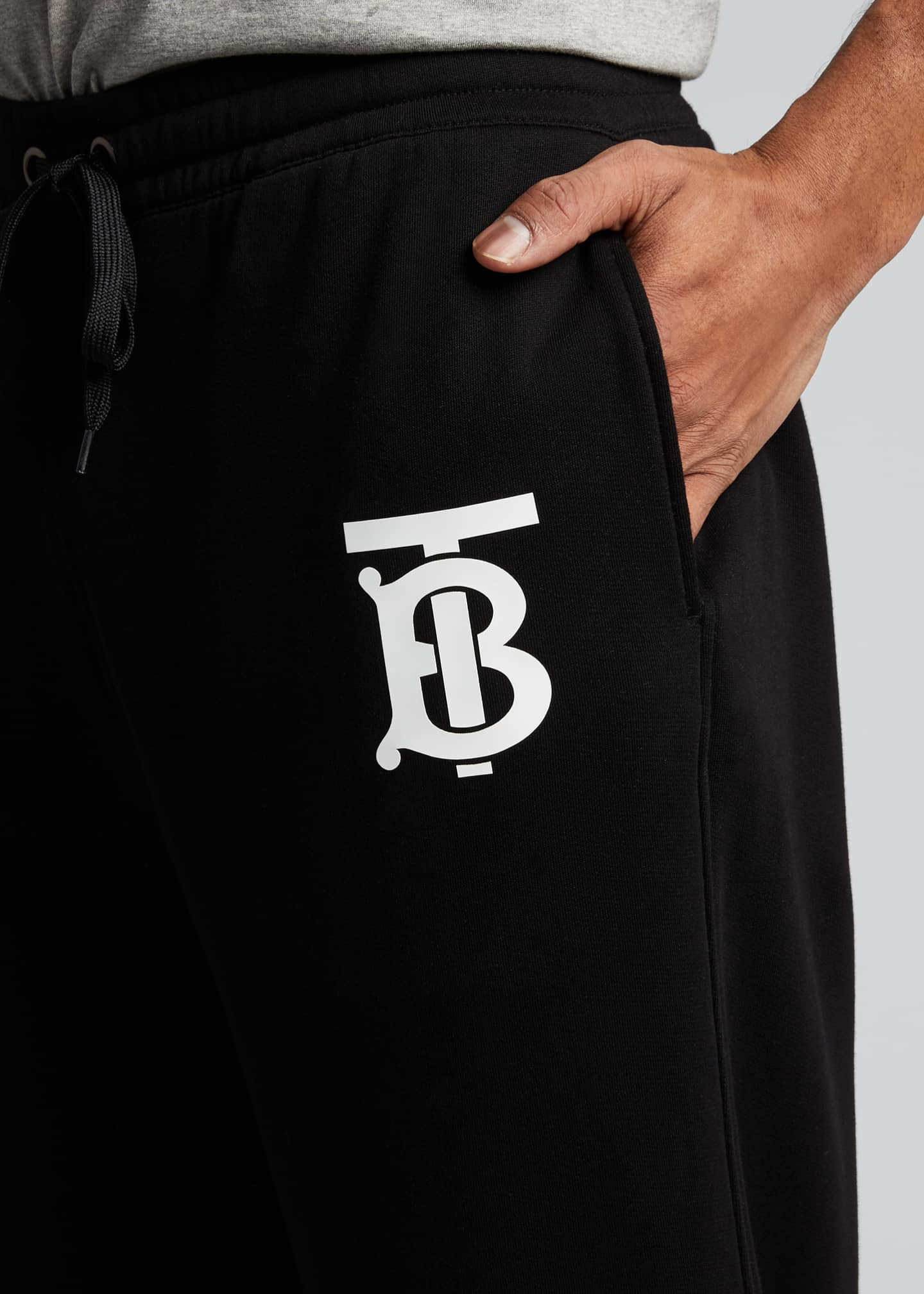Image 4 of 5: Men's TB Logo Sweatpants