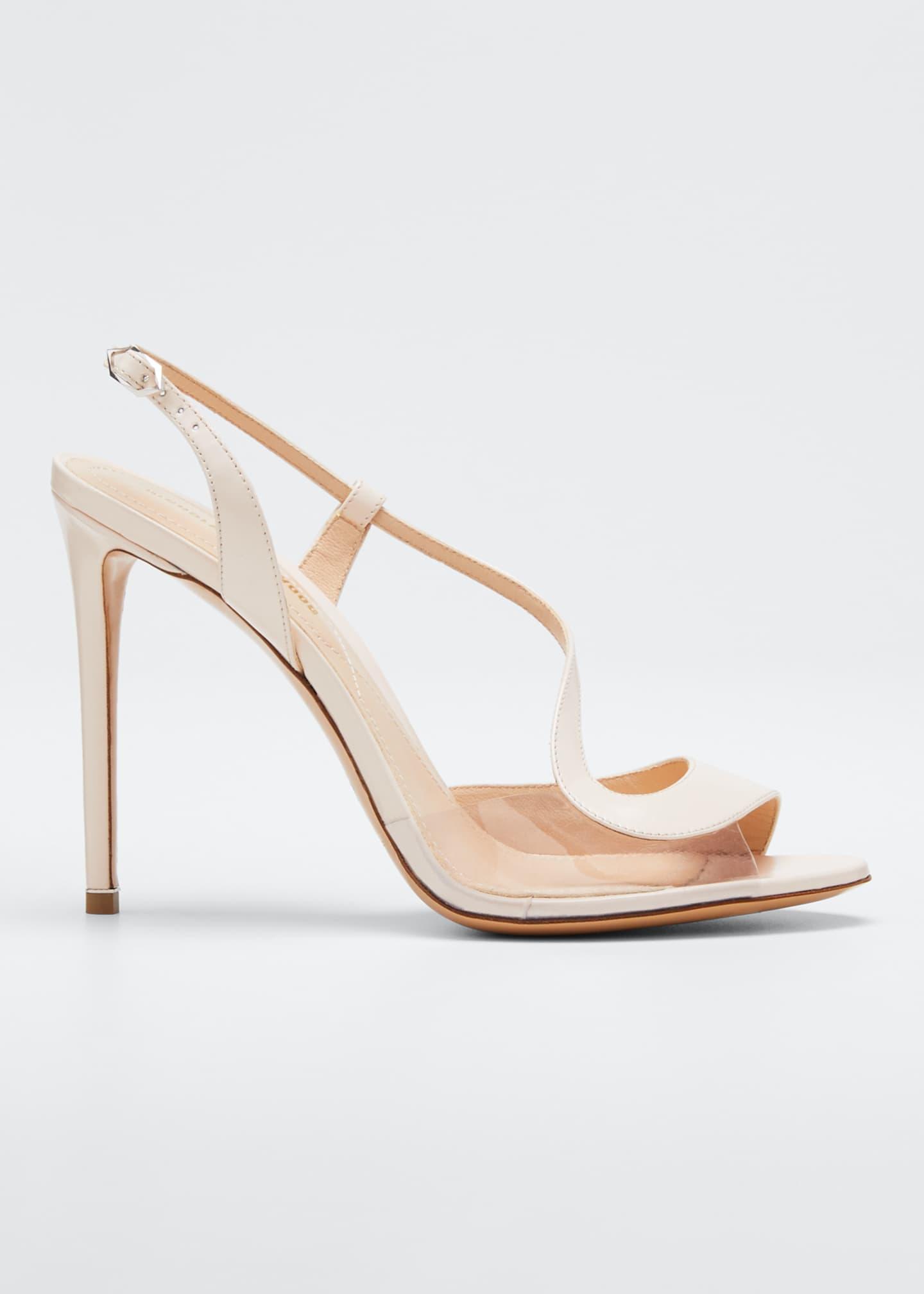 Nicholas Kirkwood Leather and PVC Sandals