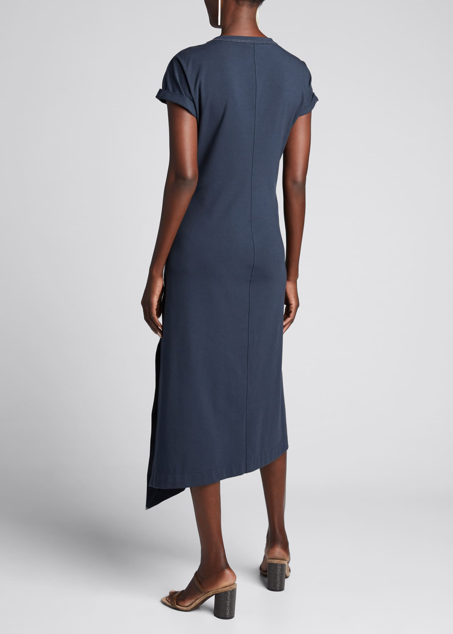 Image 2 of 5: Couture Jersey Scoop-Neck Dress