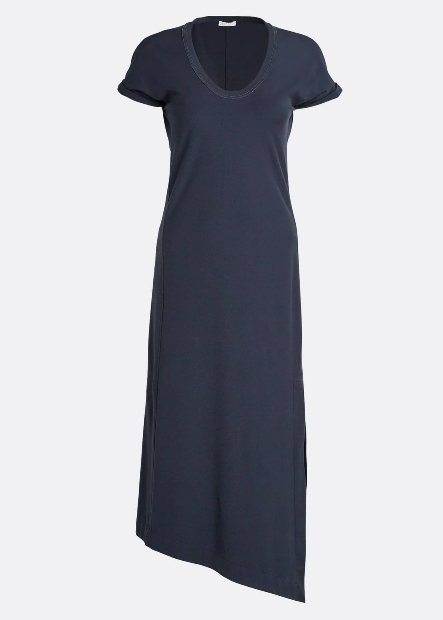 Image 5 of 5: Couture Jersey Scoop-Neck Dress