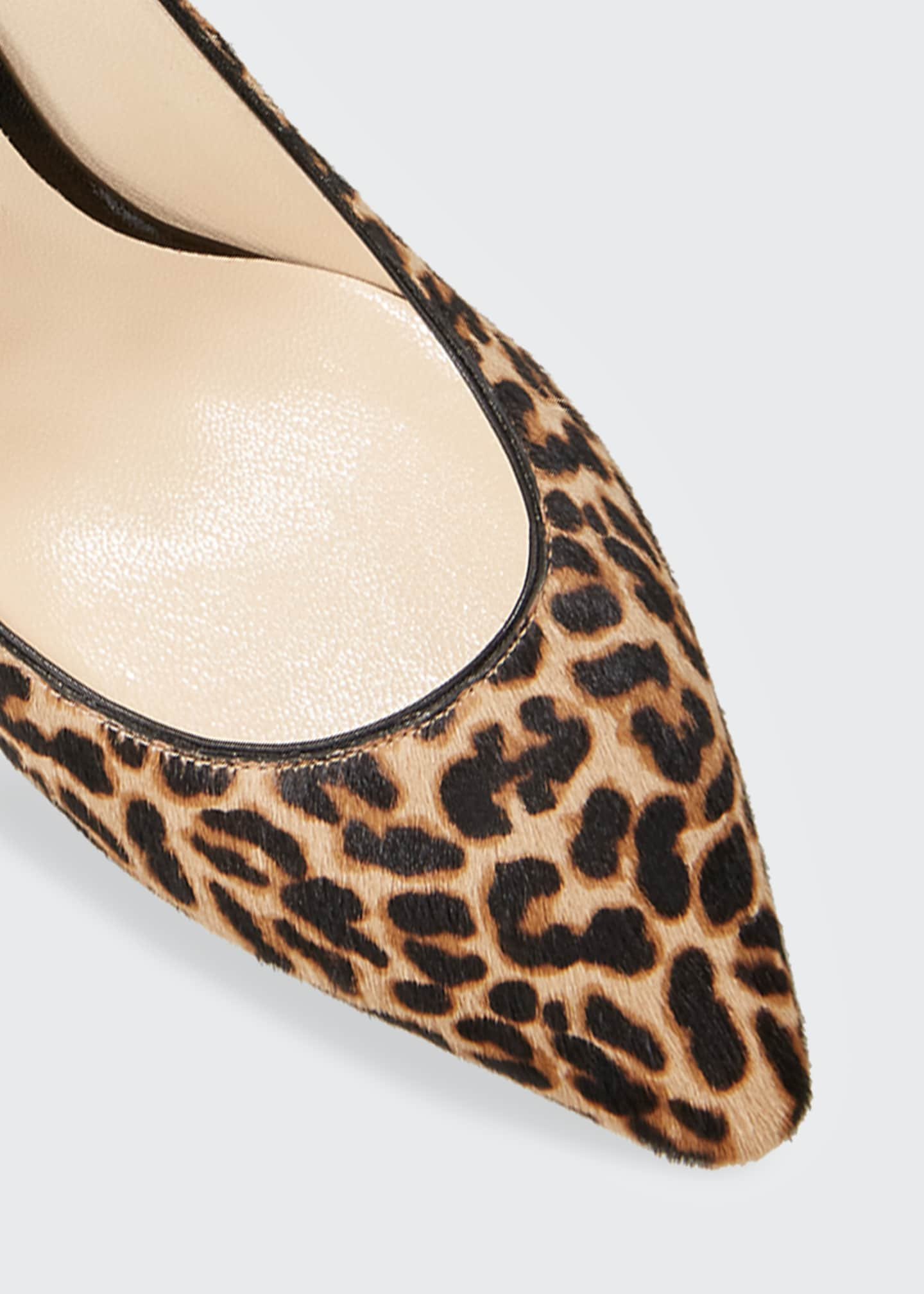 Image 3 of 3: Romy 85mm Leopard Print Pumps