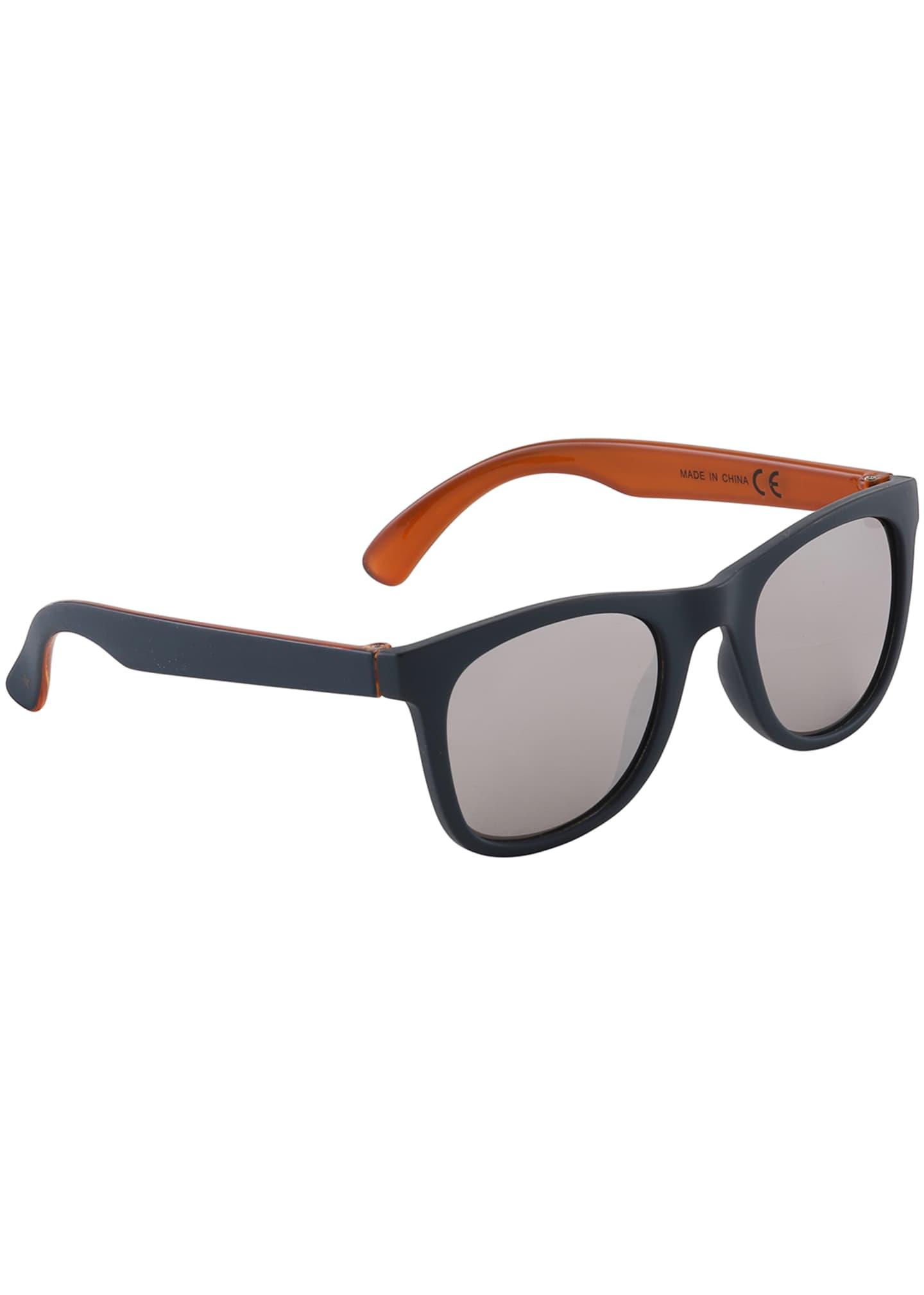 Molo Kid's Smile Rectangle Sunglasses