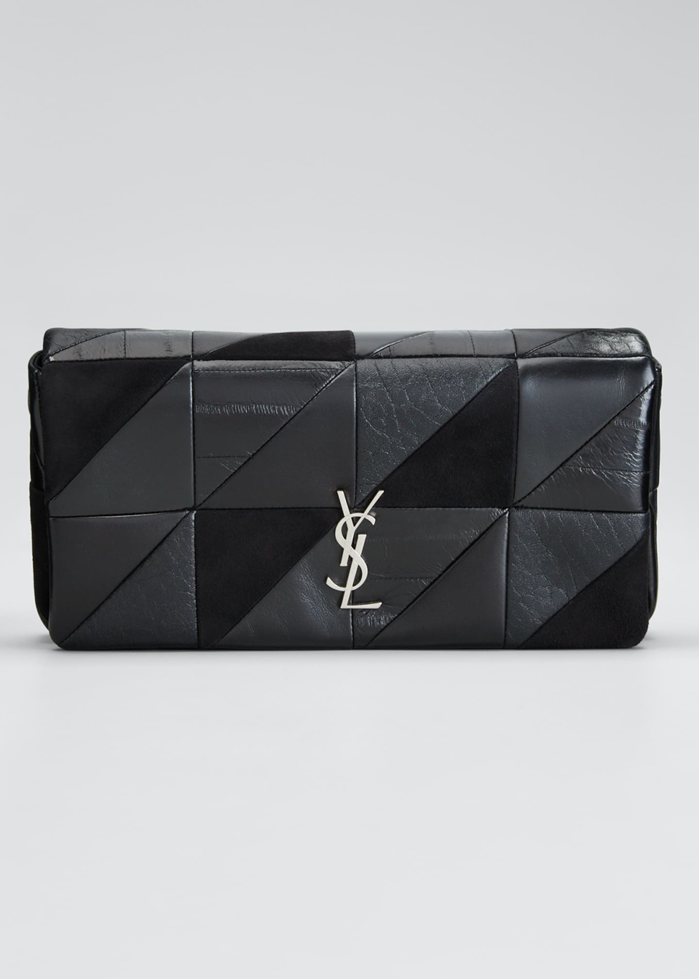 Saint Laurent Jamie YSL Monogram Patchwork Shoulder Bag