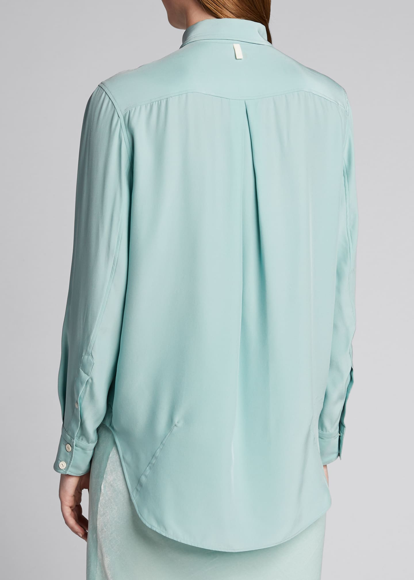Image 2 of 5: Anderson Button-Down Silk Shirt
