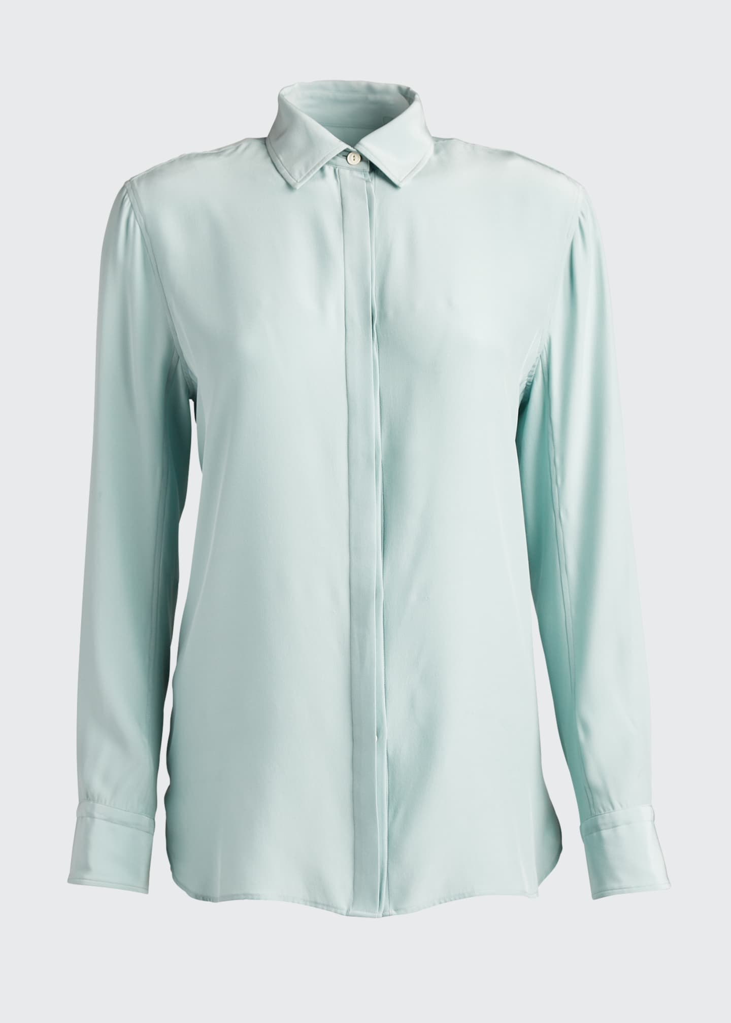 Image 5 of 5: Anderson Button-Down Silk Shirt