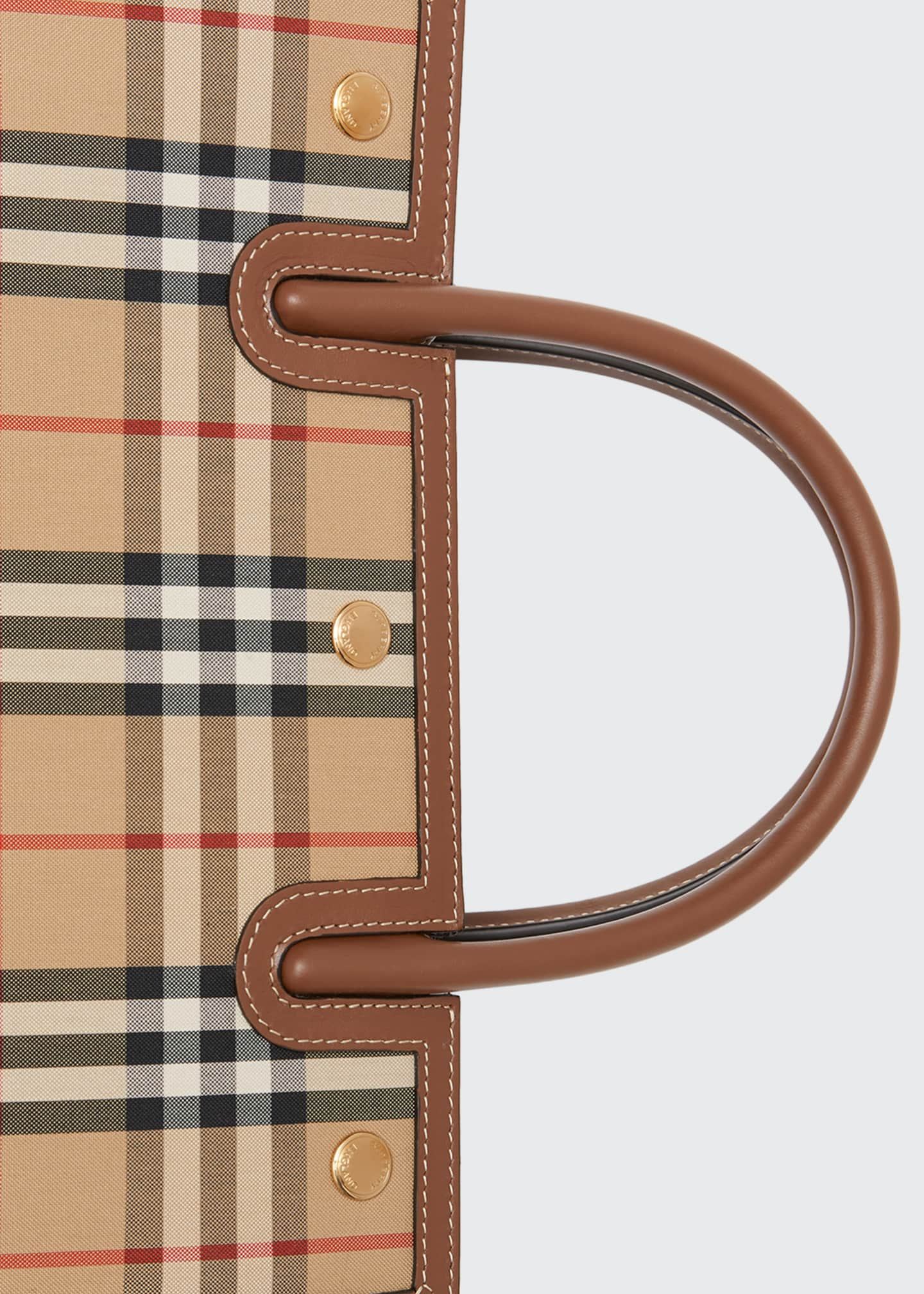 Image 4 of 4: Small Vintage Check Title Bag