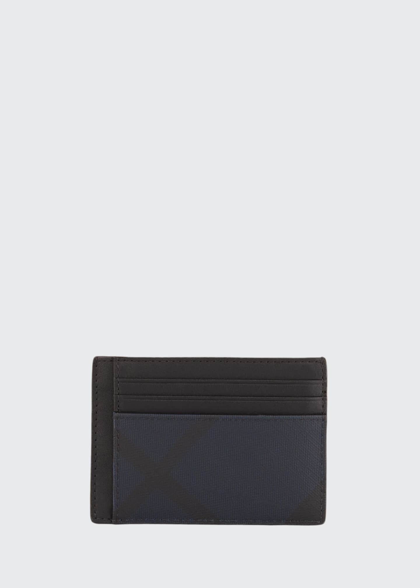 Burberry Men's Chase London Check Card Case w/