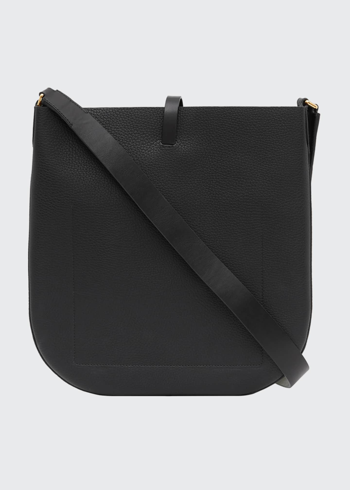 Image 3 of 5: Grainy Leather Anne Bag