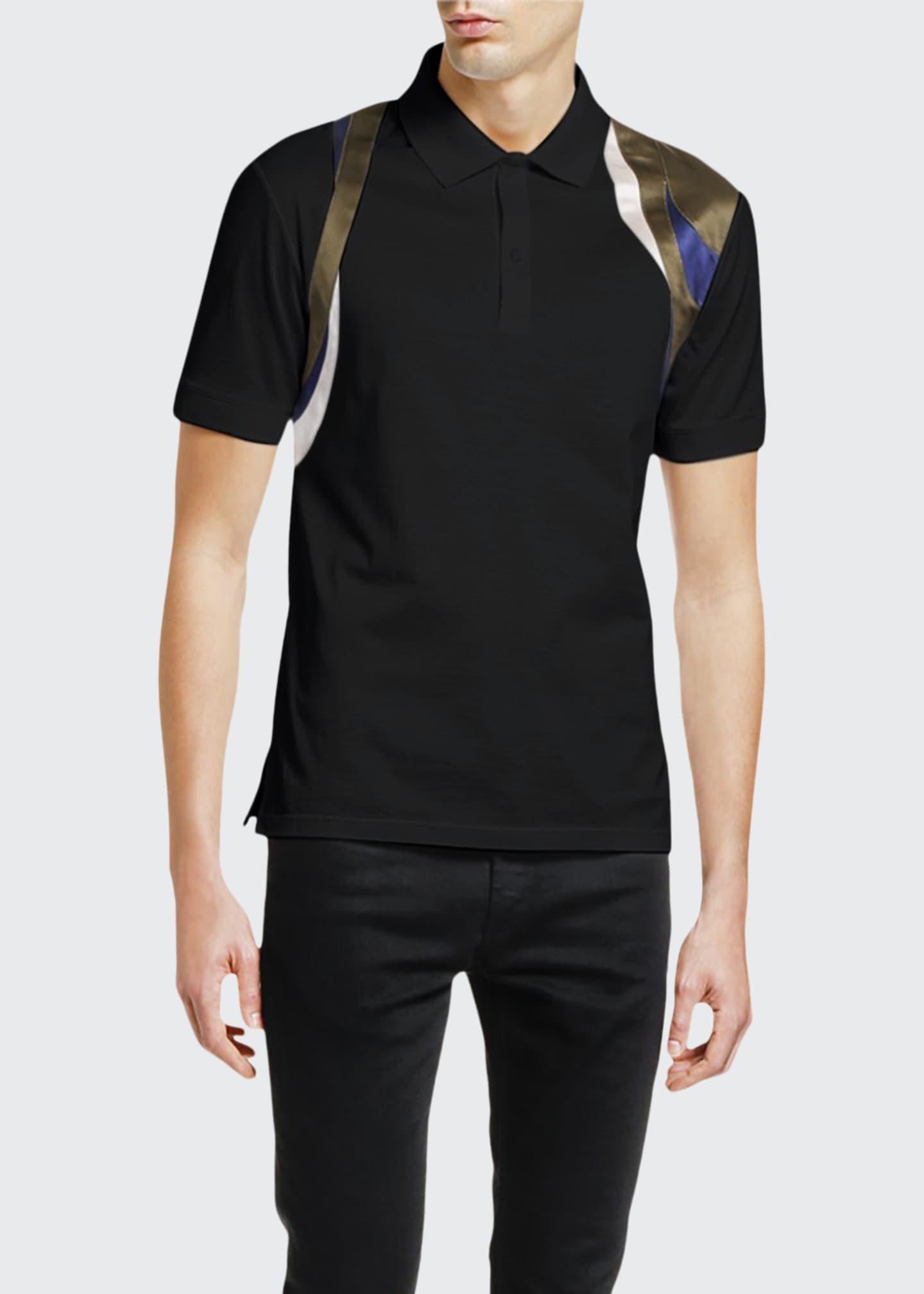 Alexander McQueen Men's Harness Polo Shirt