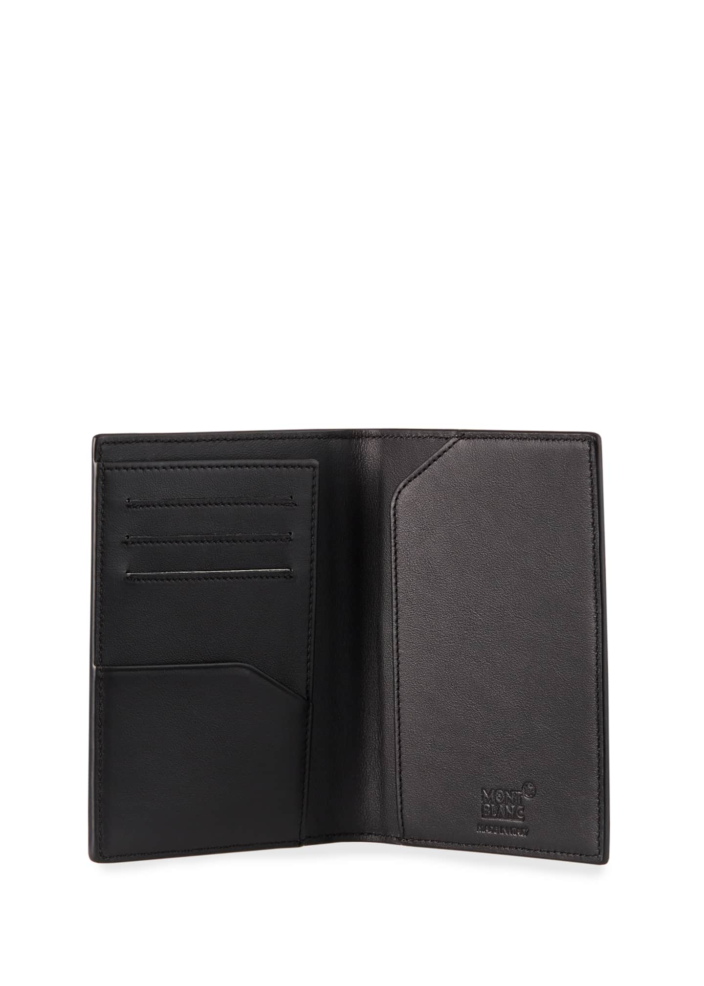 Image 2 of 2: Men's Extreme 2.0 Printed Leather Passport Holder