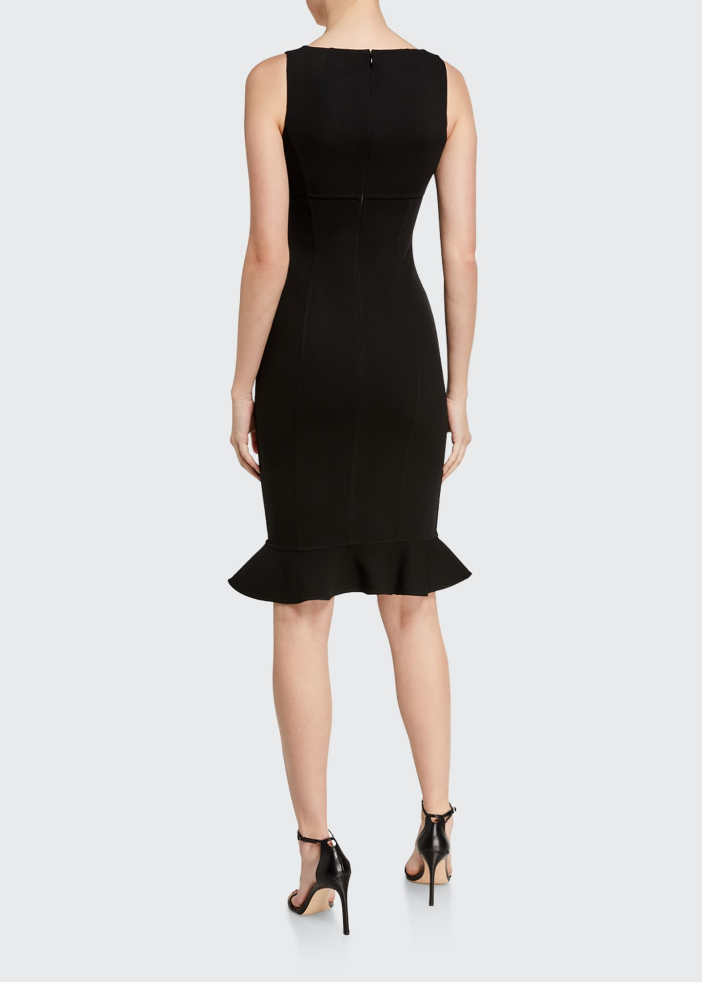 Image 2 of 2: Double-Ruffle Sheath Dress