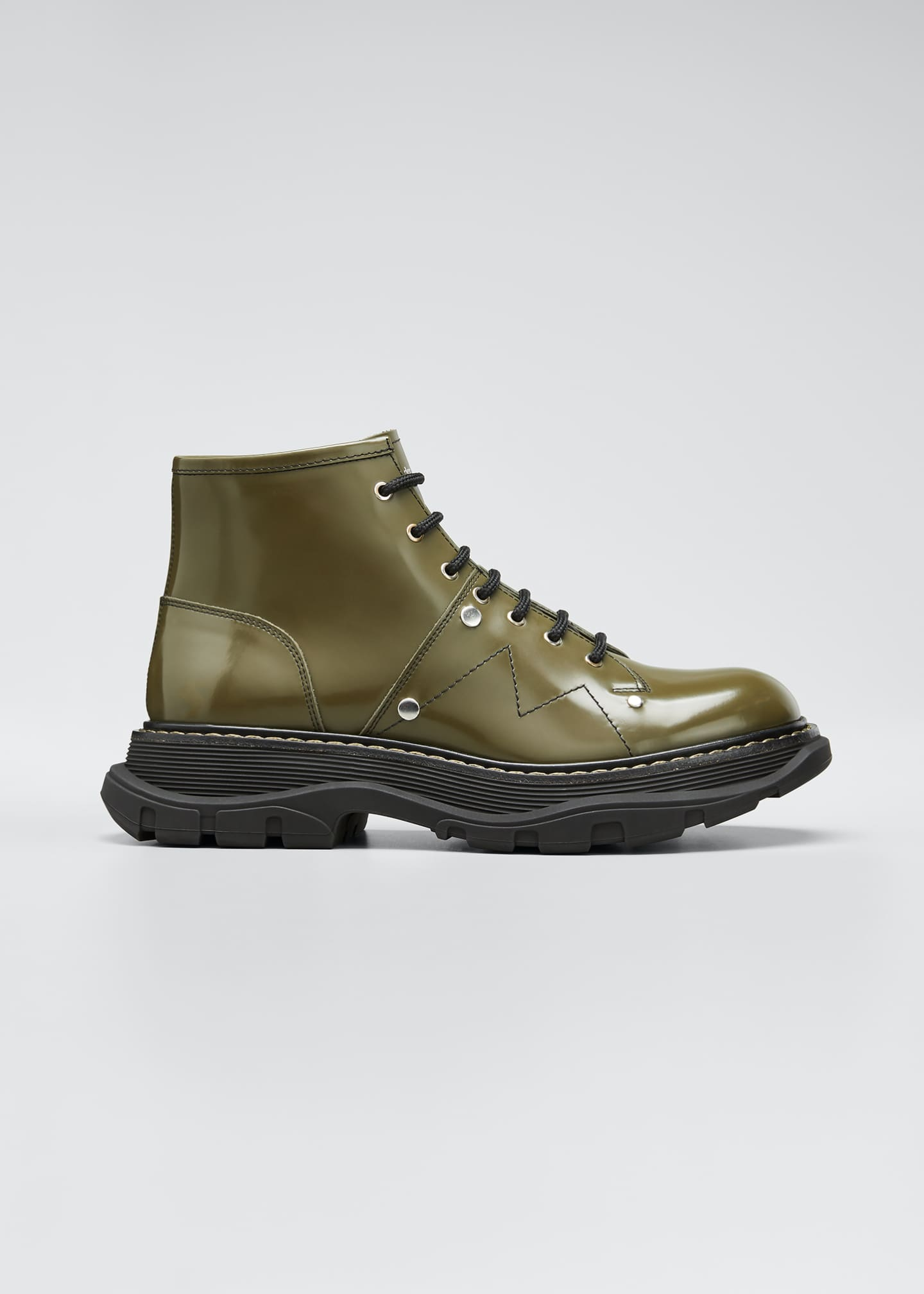 Image 1 of 5: Tread Lace-Up Boots