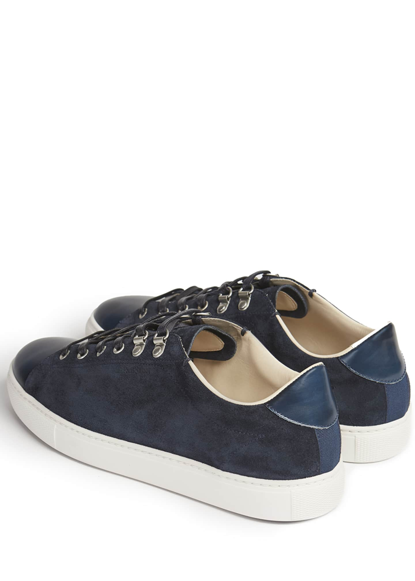 Image 5 of 5: Men's Game Suede Low-Top Sneakers