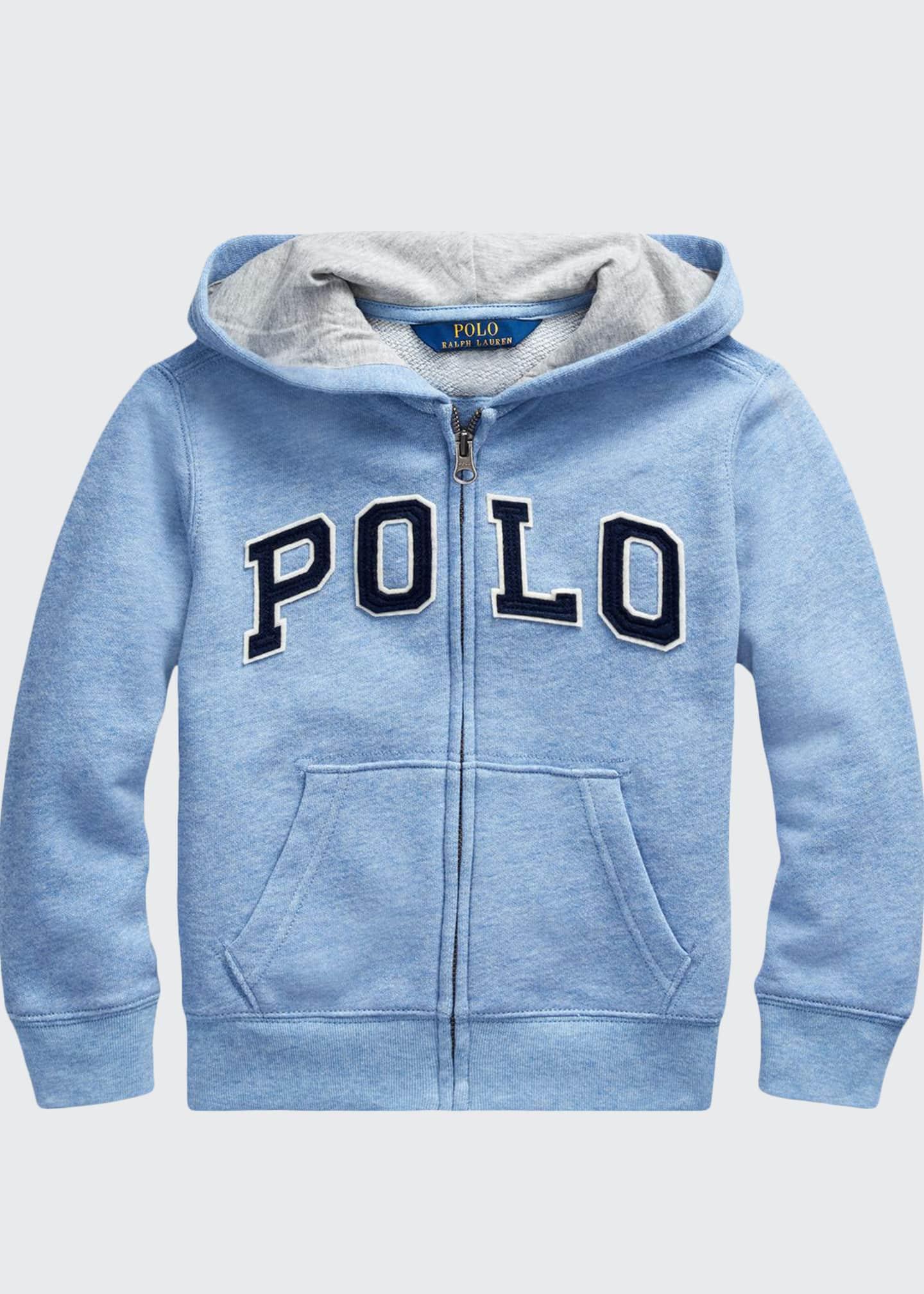Ralph Lauren Childrenswear Boy's Polo Zip-Front Knit Jacket,