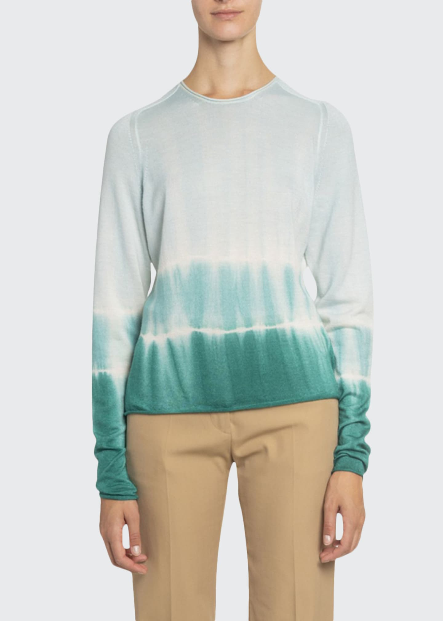 Boon The Shop Ombre Tie-Dye Long-Sleeve Sweater