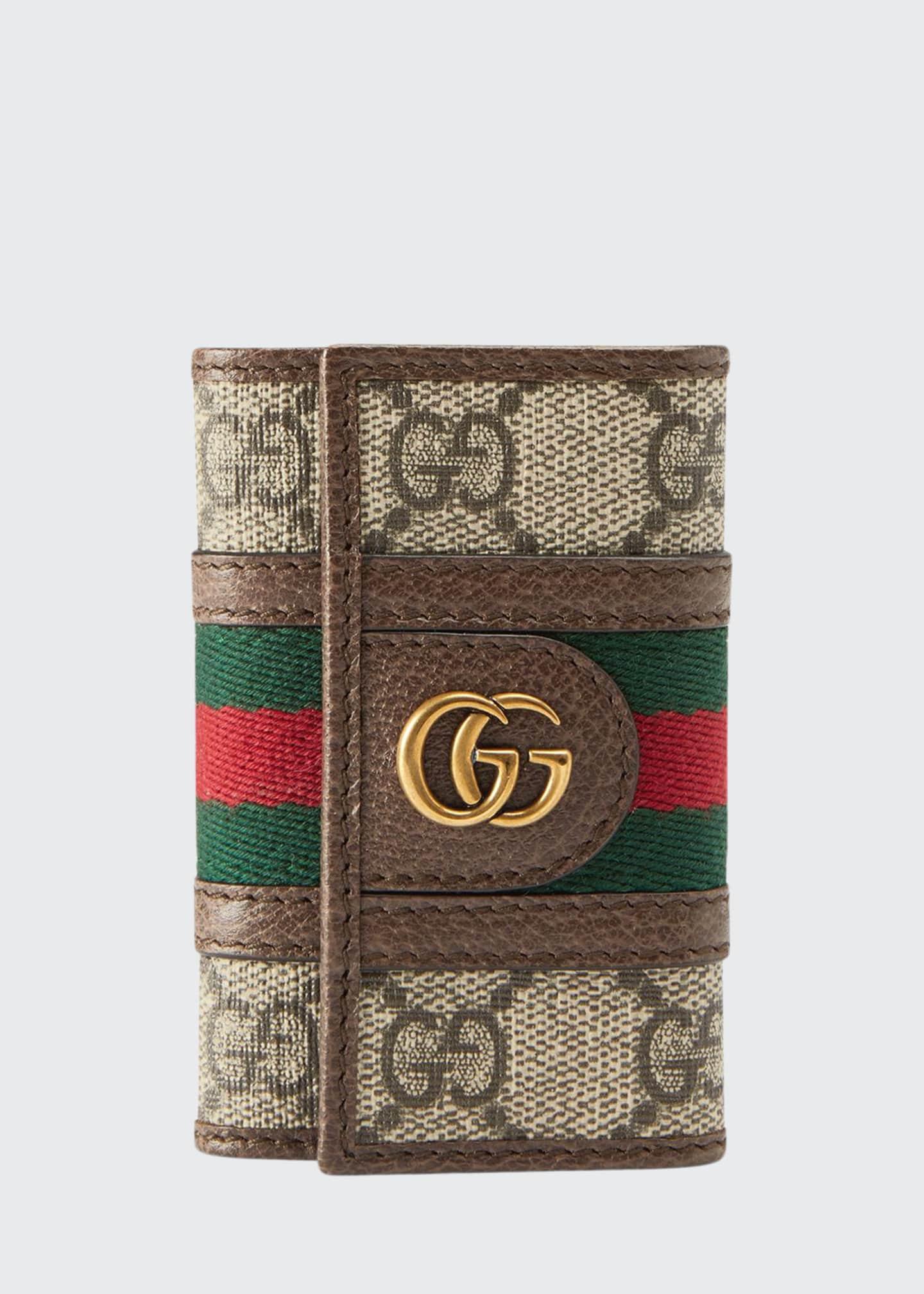 Gucci Men's GG Supreme Marmont Flap Wallet