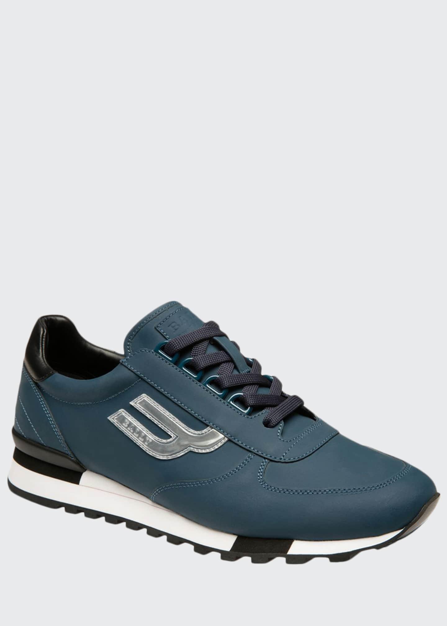 Bally Men's Gavino Leather Runner Sneakers
