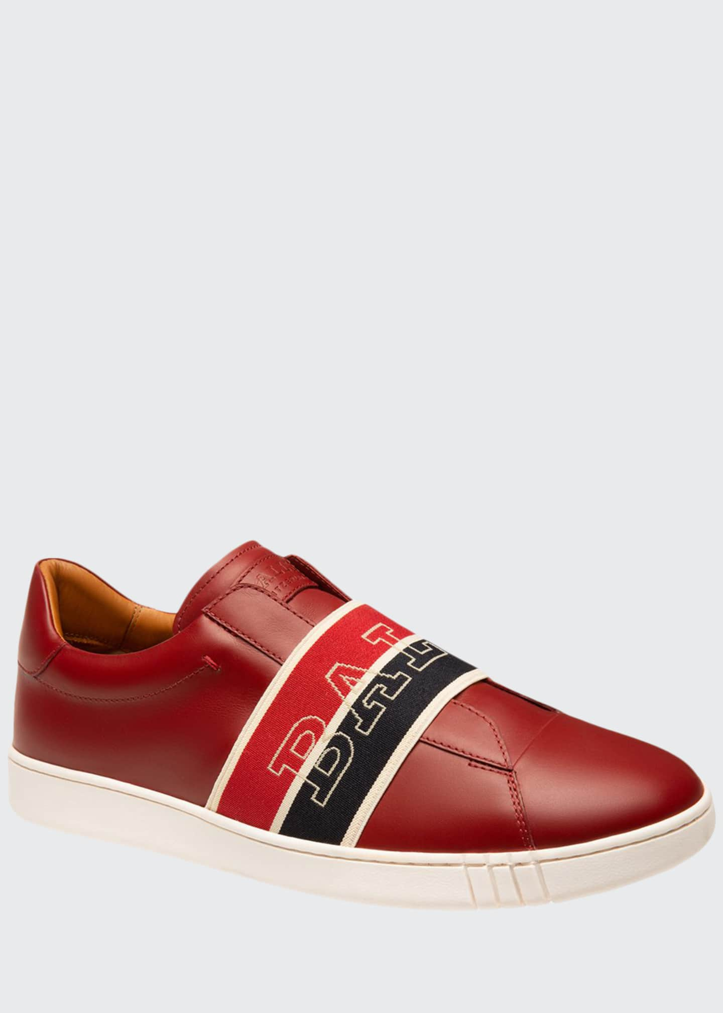 Bally Men's Wictor Trainspotting Leather Sneakers