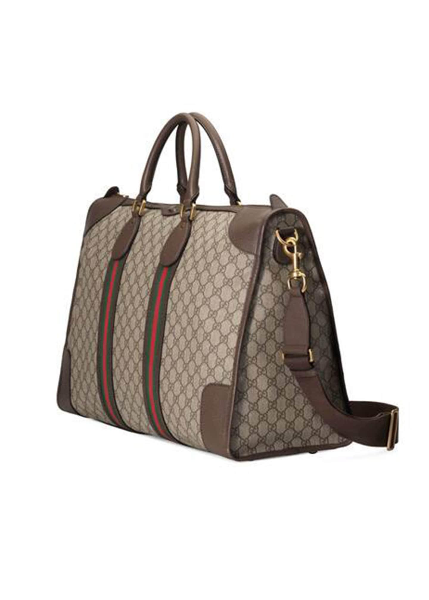 Gucci Men's GG Supreme Medium Explorer Backpack
