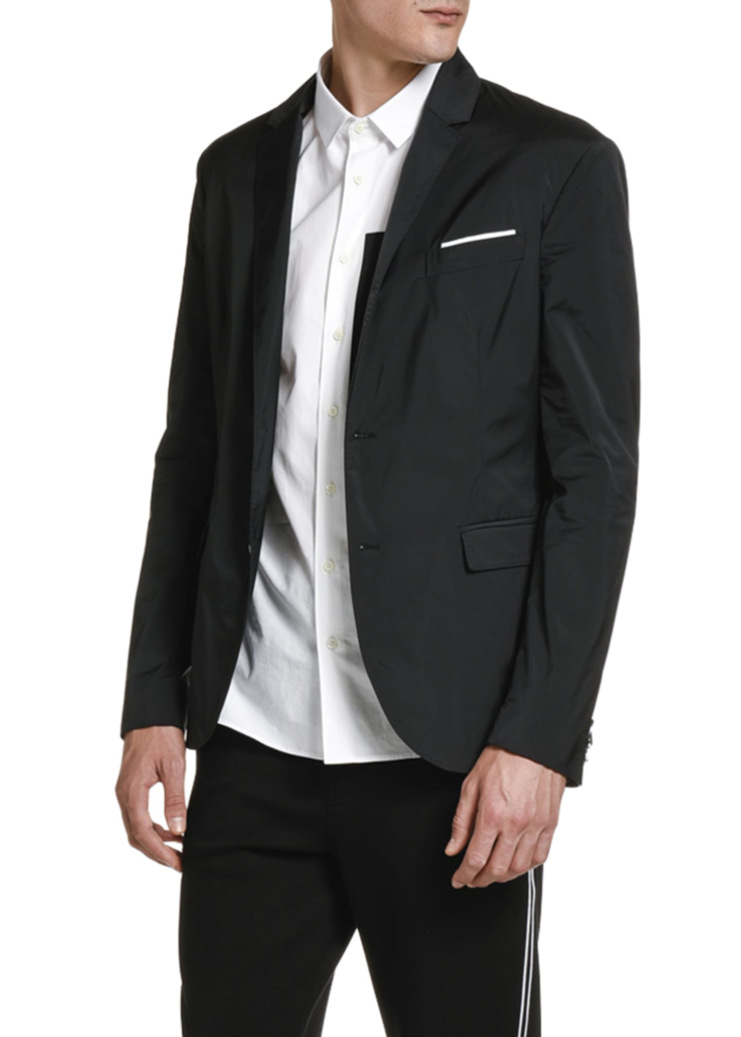 Image 2 of 3: Men's Two-Button Sport Coat