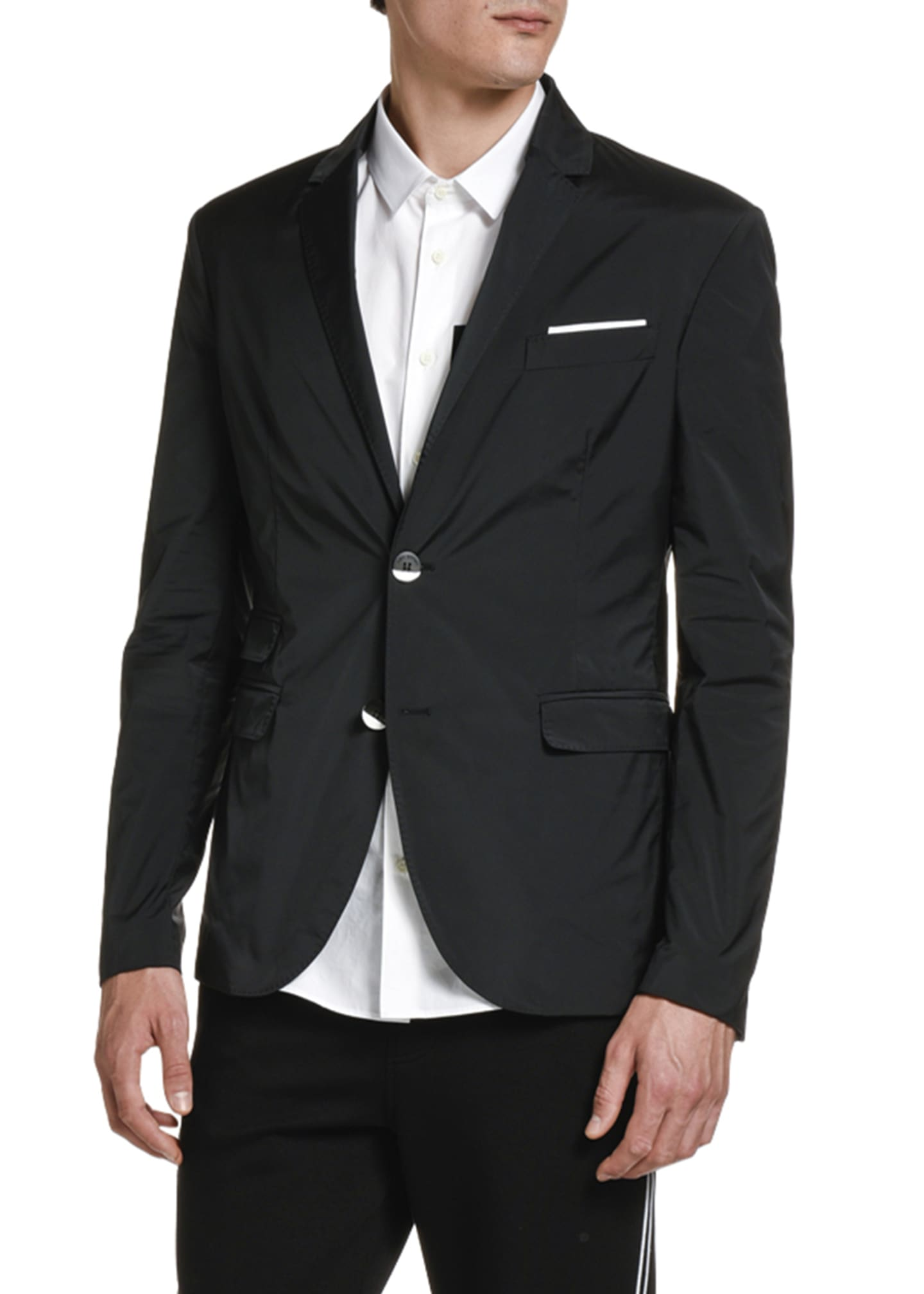 Image 1 of 3: Men's Two-Button Sport Coat