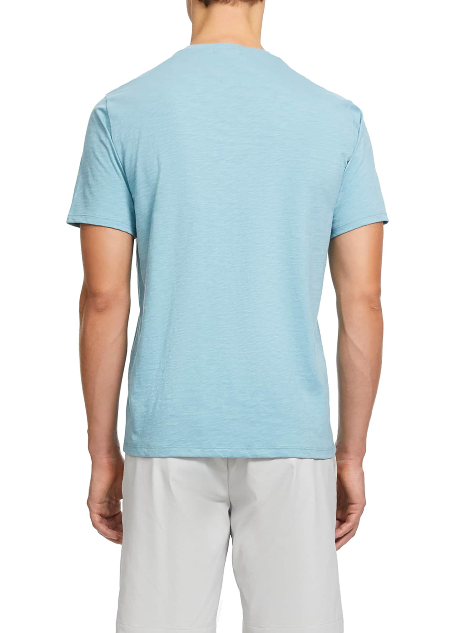 Image 3 of 3: Men's Cosmos Basic Short-Sleeve Tee