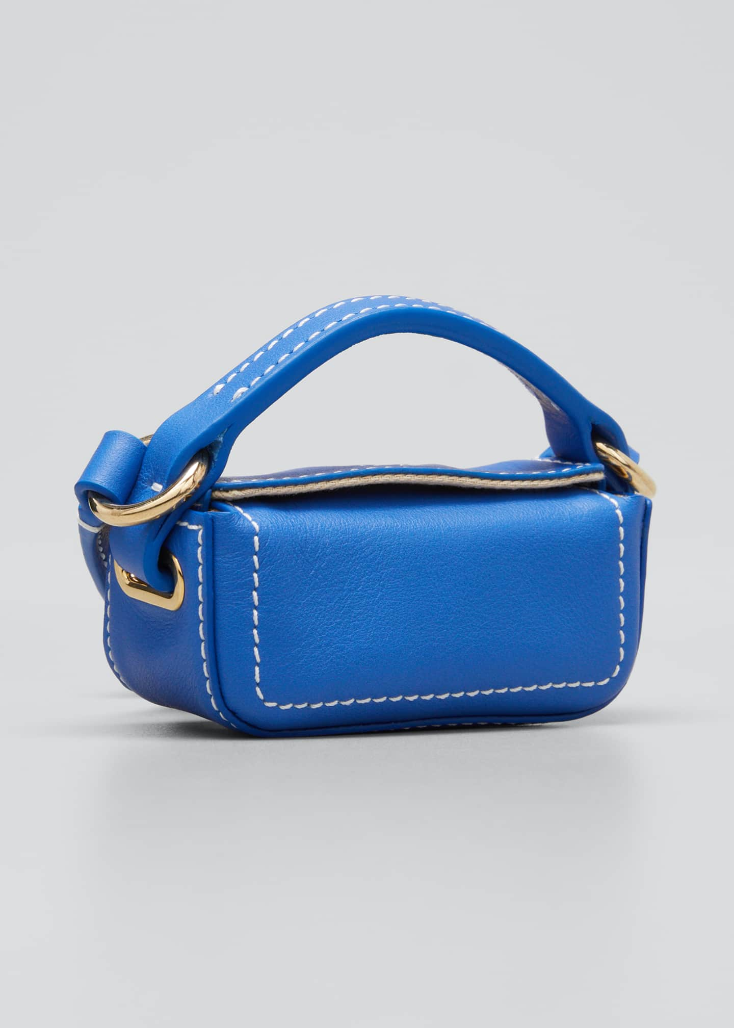 Image 3 of 5: Le Nani Mini Charm Crossbody Bag, Blue