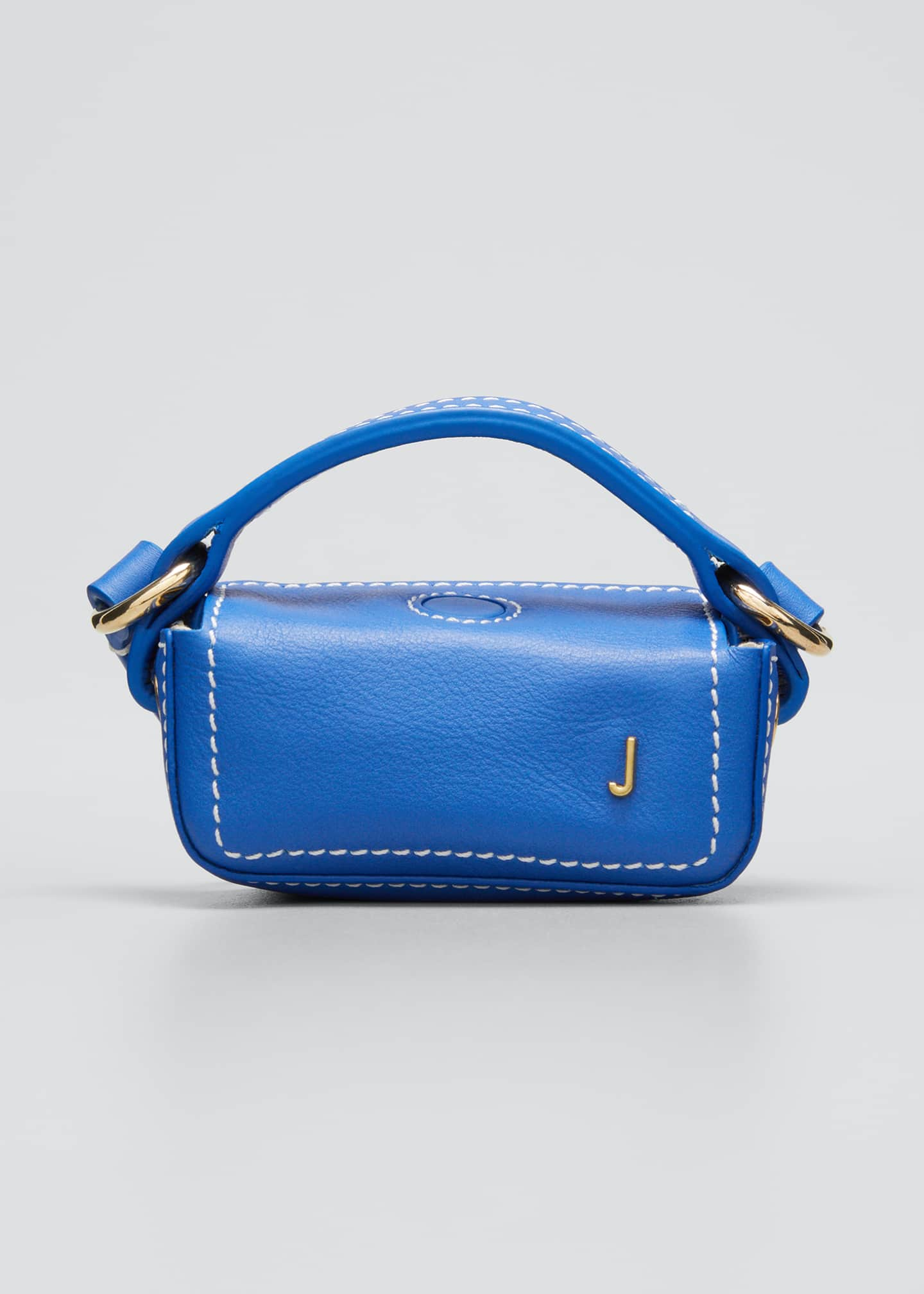 Image 1 of 5: Le Nani Mini Charm Crossbody Bag, Blue