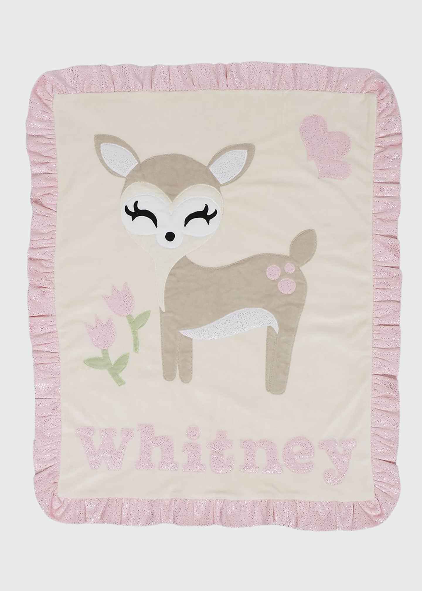 Boogie Baby Personalized Dearest Plush Blanket