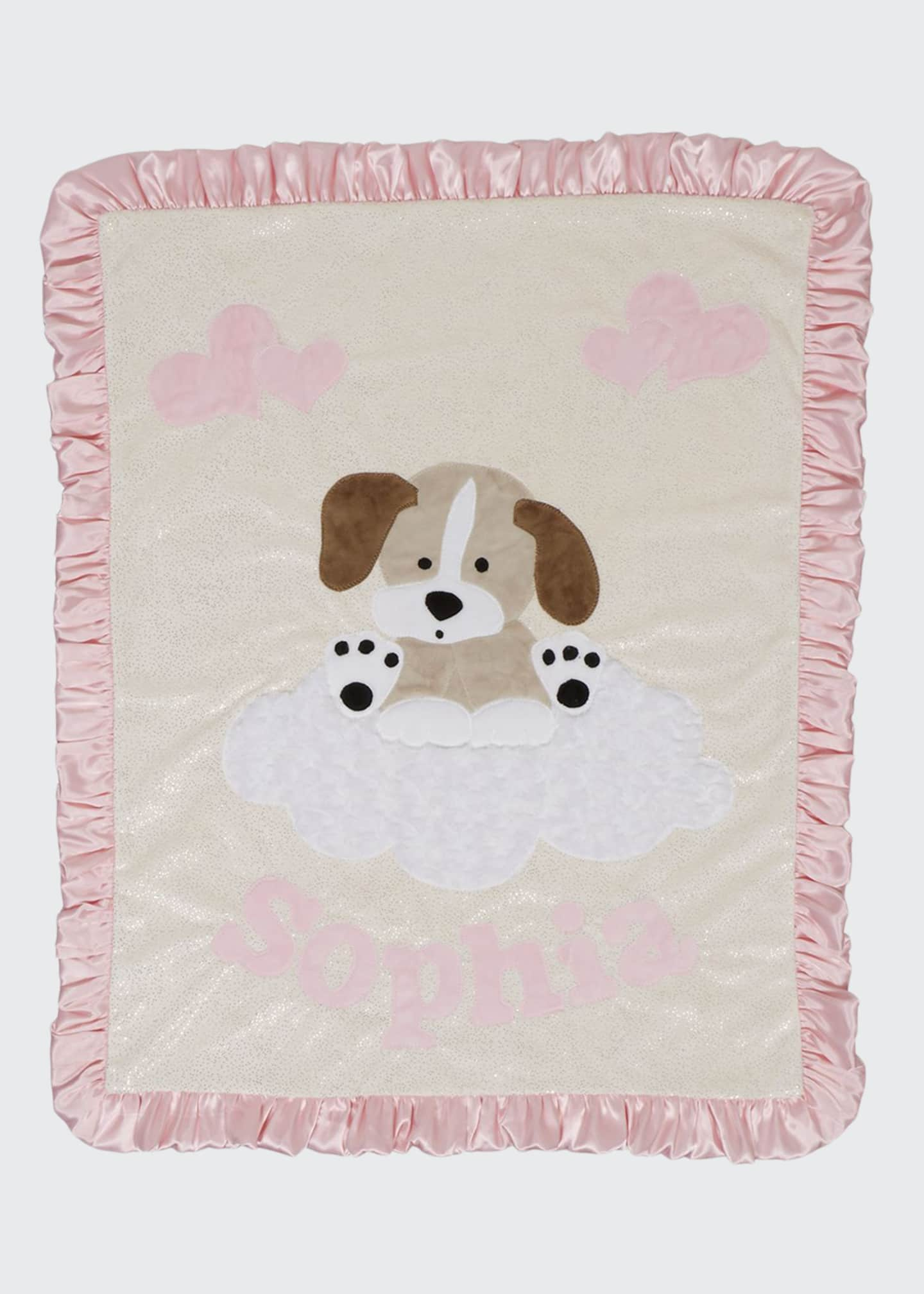Boogie Baby Personalized Puppy Dreams Plush Blanket