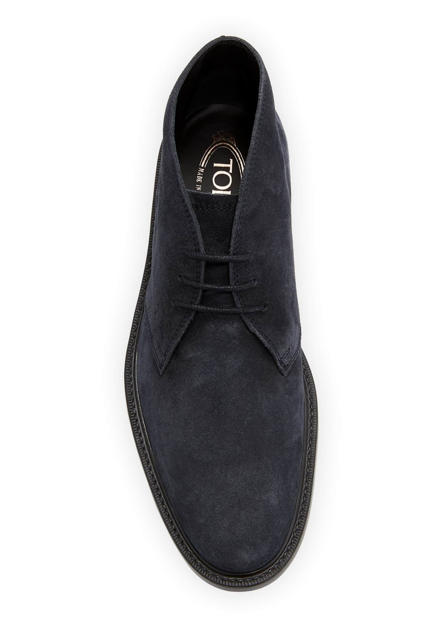 Image 2 of 3: Men's Polacco Suede Chukka Boots