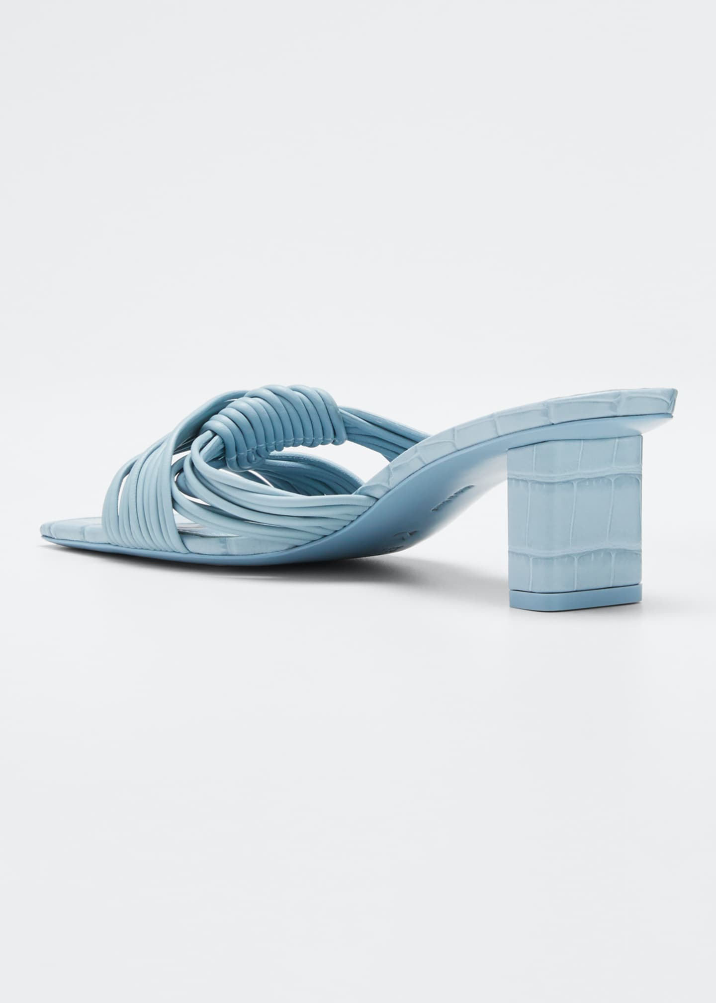 Image 4 of 5: Calisse Slide Knot Sandals