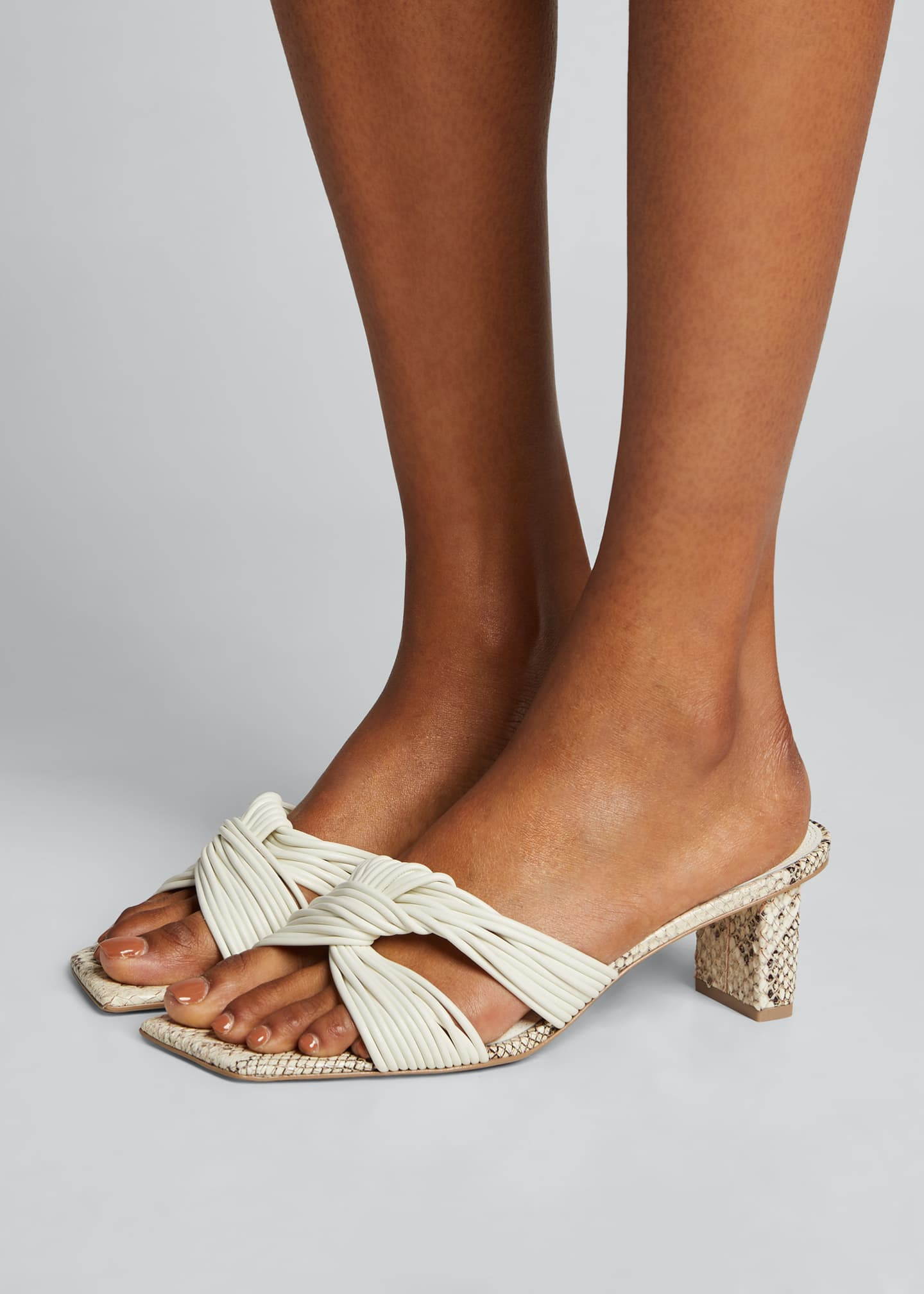 Image 2 of 5: Calisse Slide Knot Sandals