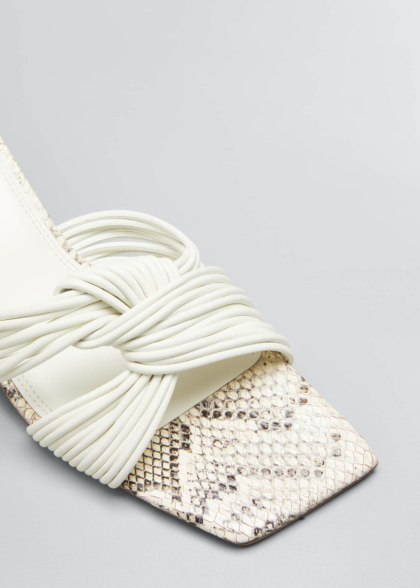 Image 5 of 5: Calisse Slide Knot Sandals