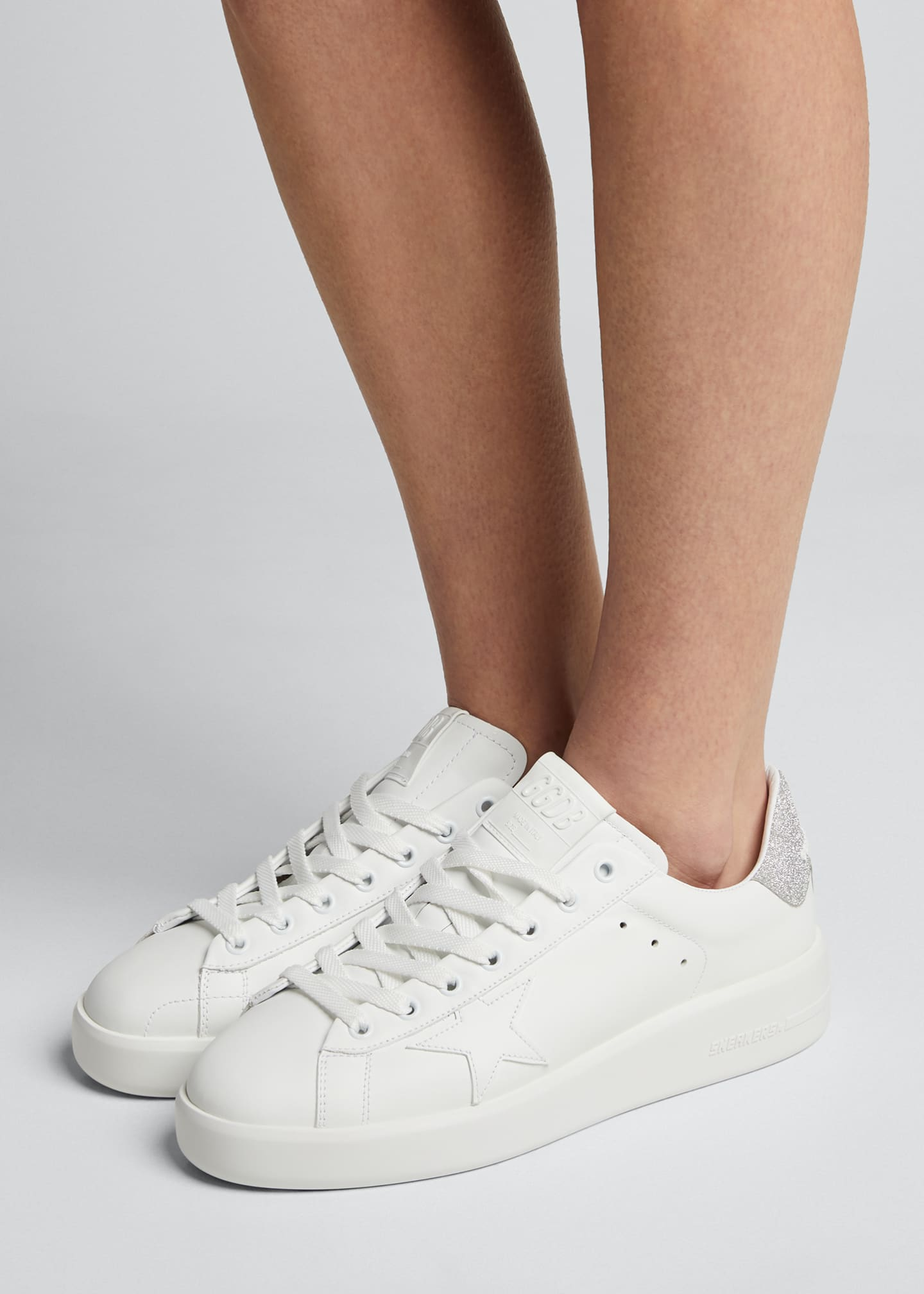 Image 2 of 5: Pure Star Lace-Up Sneakers