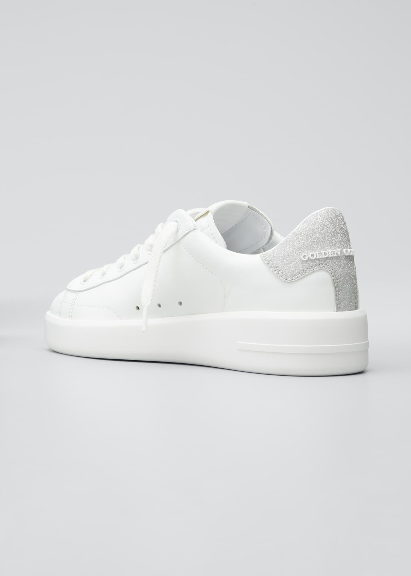 Image 4 of 5: Pure Star Lace-Up Sneakers
