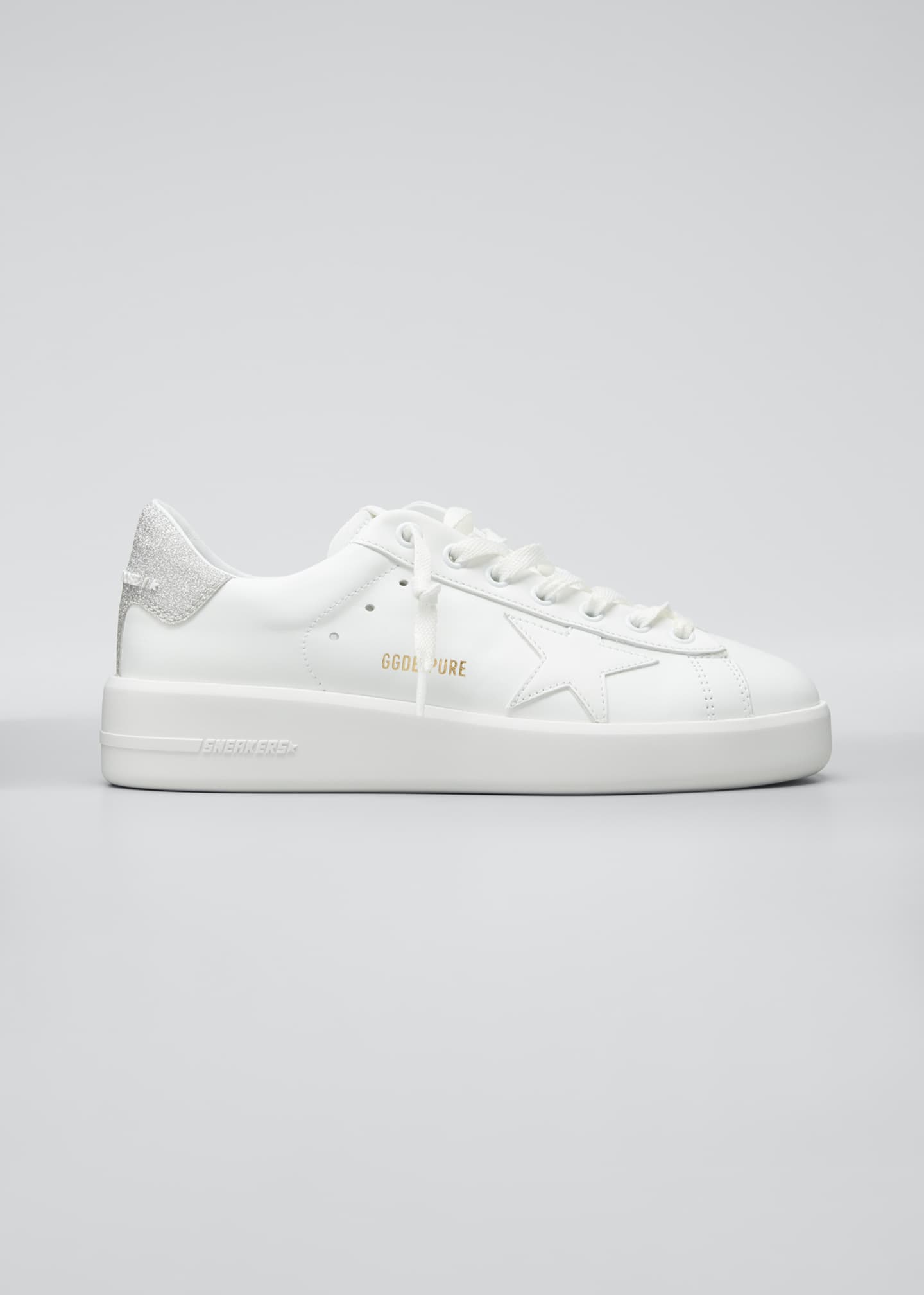Image 1 of 5: Pure Star Lace-Up Sneakers