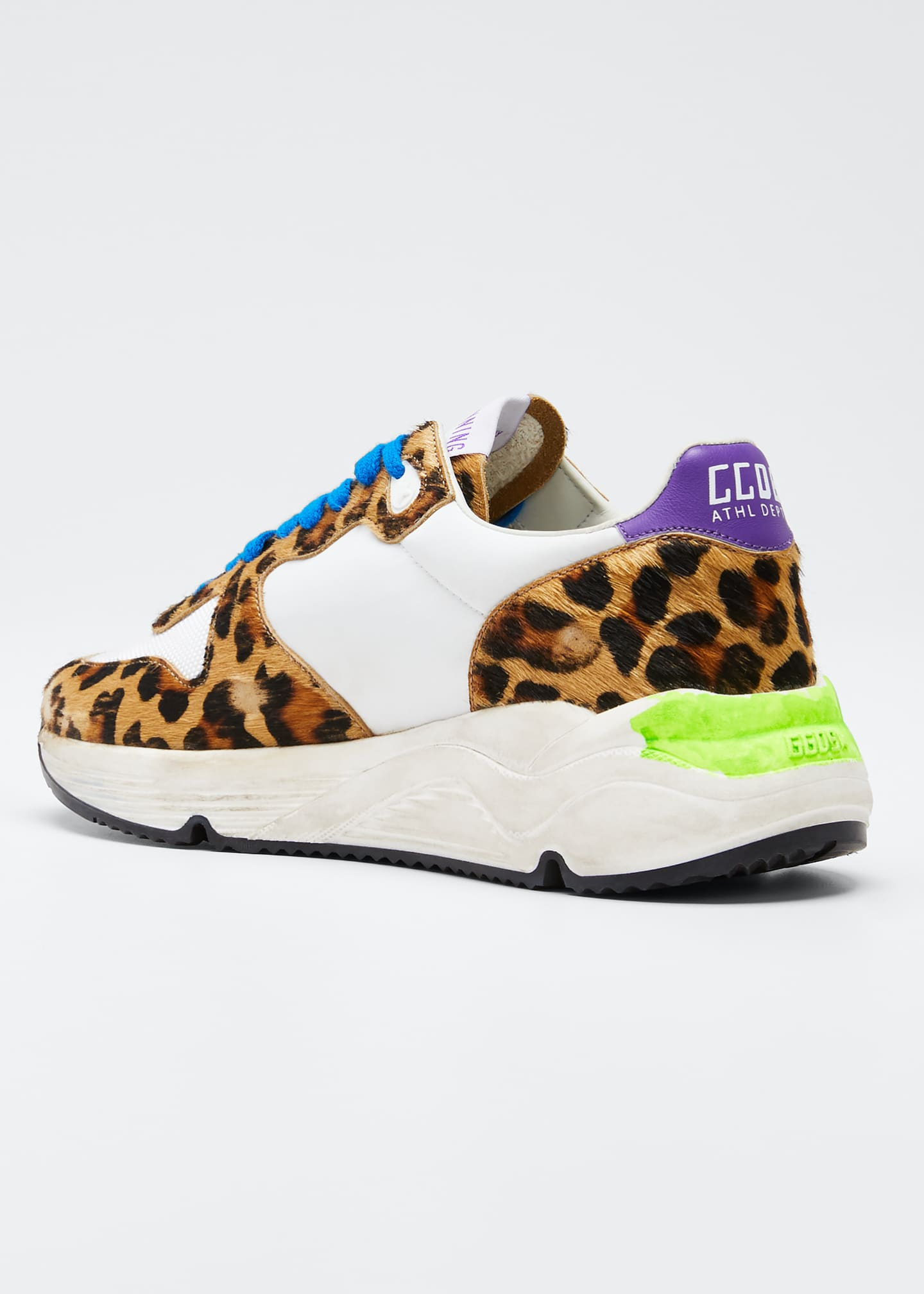 Image 2 of 3: Running Leopard Shooting Star Sneakers