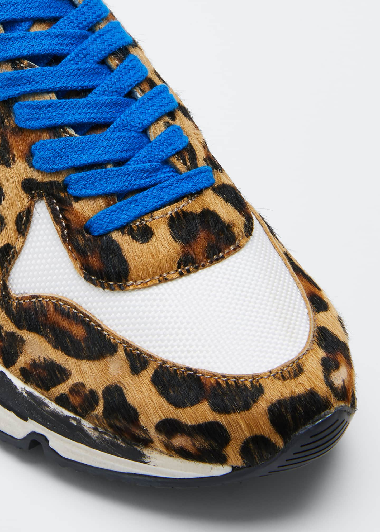 Image 3 of 3: Running Leopard Shooting Star Sneakers