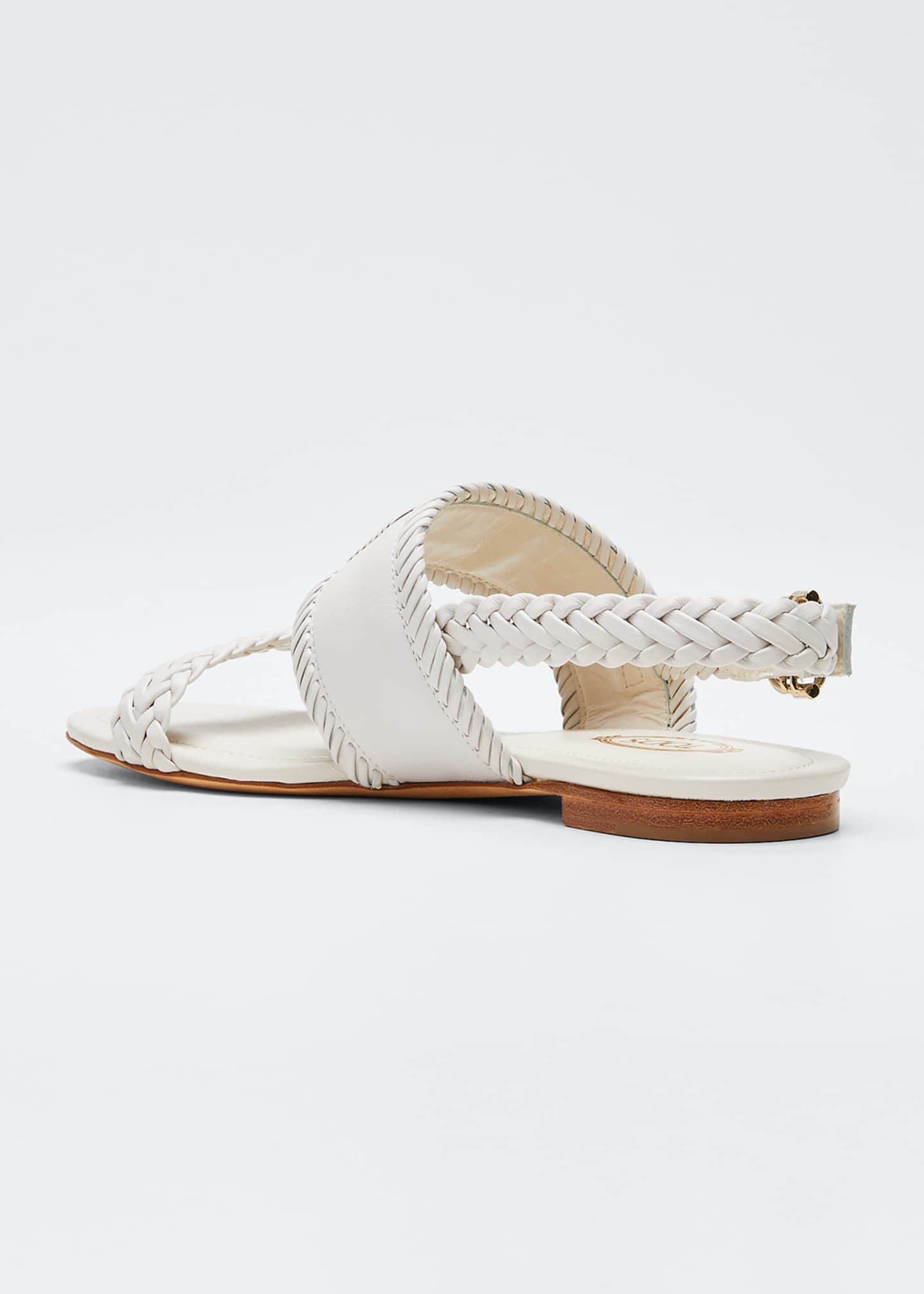 Image 2 of 3: Selleria Woven Flat Sandals