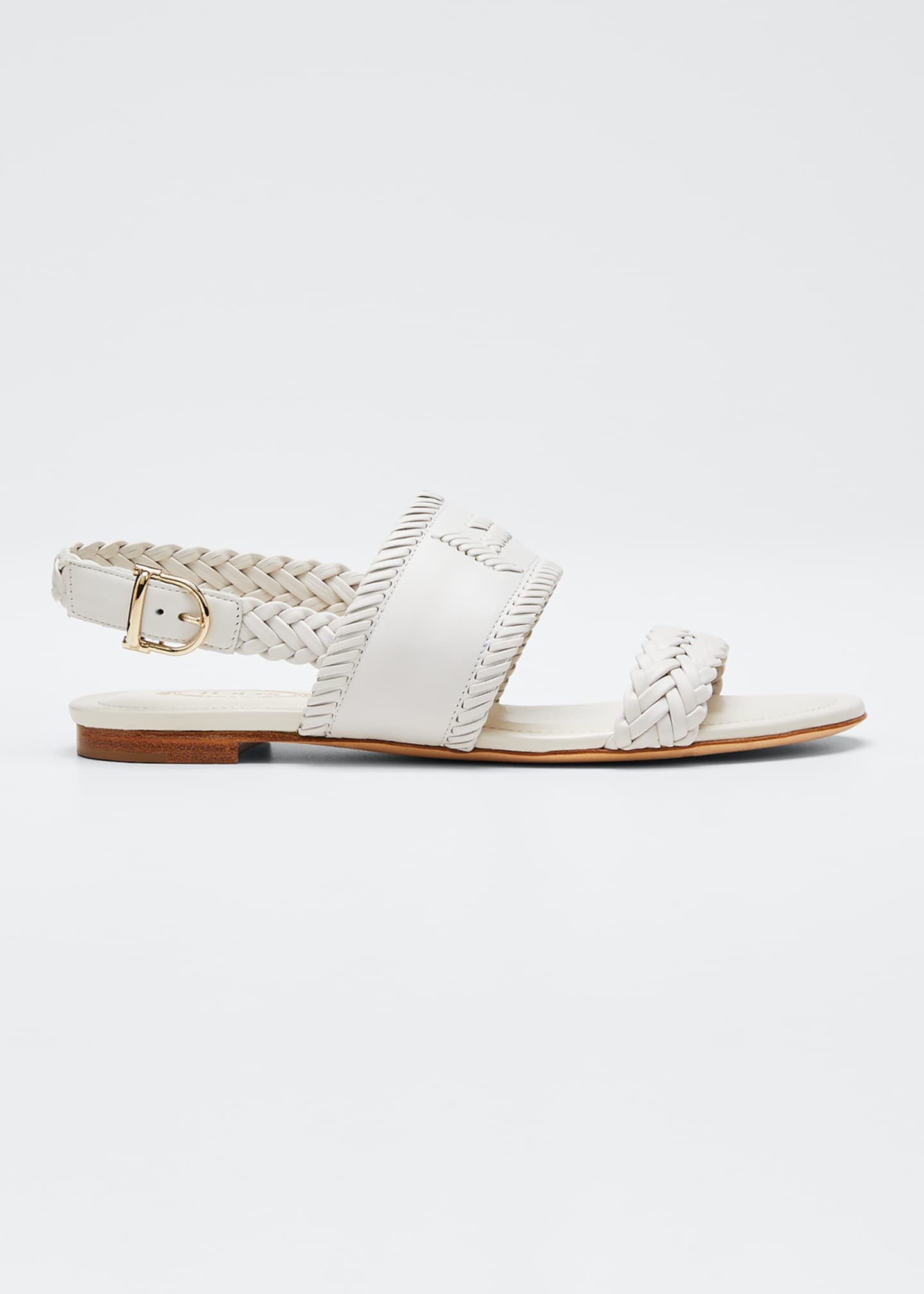 Image 1 of 3: Selleria Woven Flat Sandals