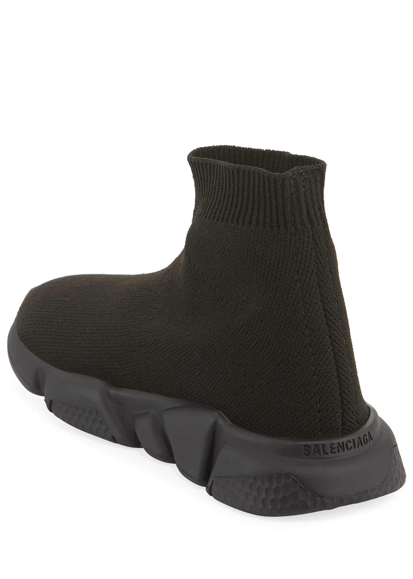 Image 4 of 4: Speed Sock Sneakers with Tonal Sole, Toddler/Kids