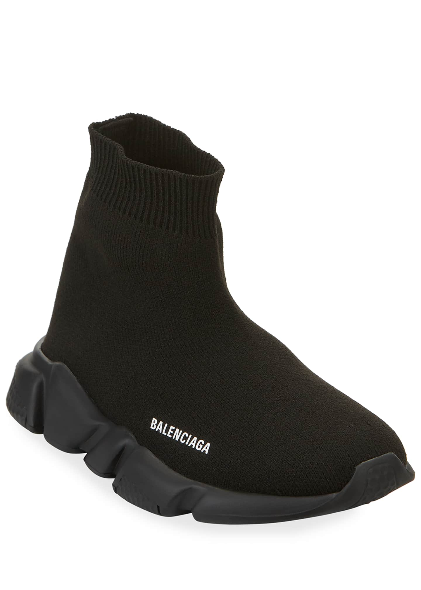 Image 1 of 4: Speed Sock Sneakers with Tonal Sole, Toddler/Kids