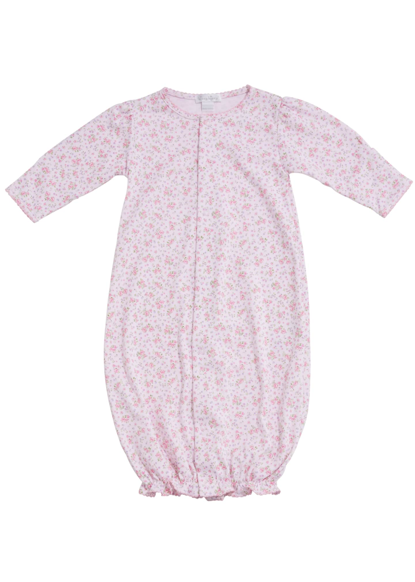 Kissy Kissy Dusty Rose Pima Convertible Gown, Size