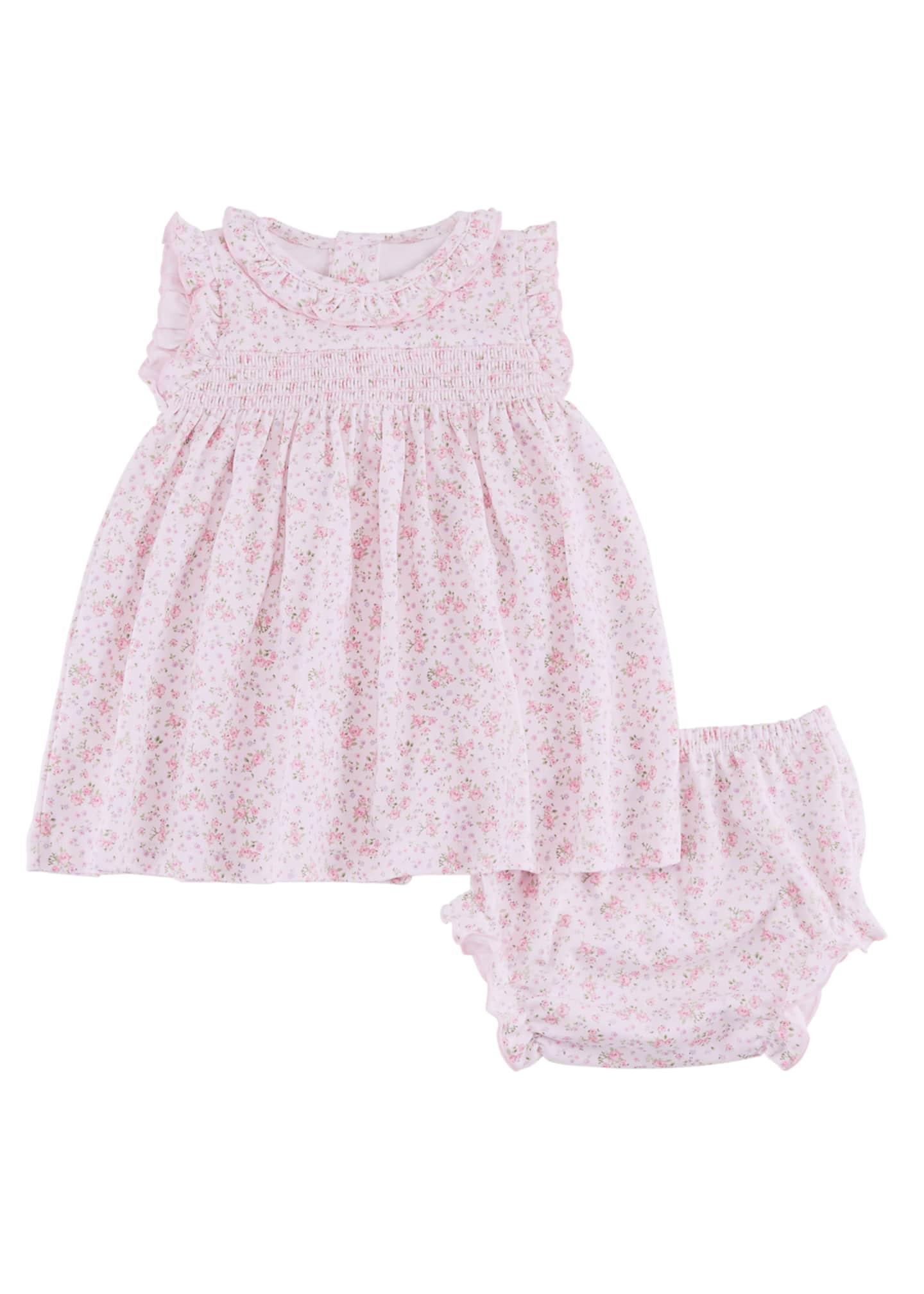 Kissy Kissy Dusty Rose Pima Dress w/ Matching